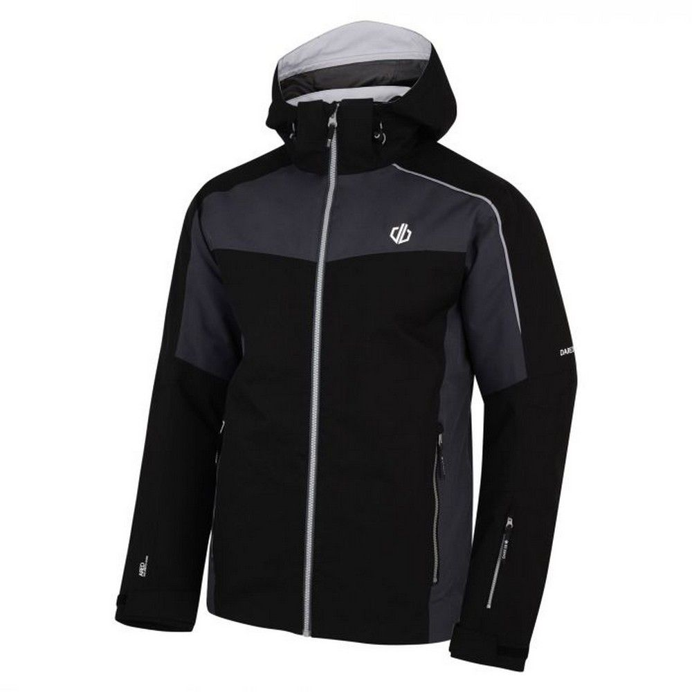 Dare 2b Mens Intermit Ski Jacket (Black/Ebony)