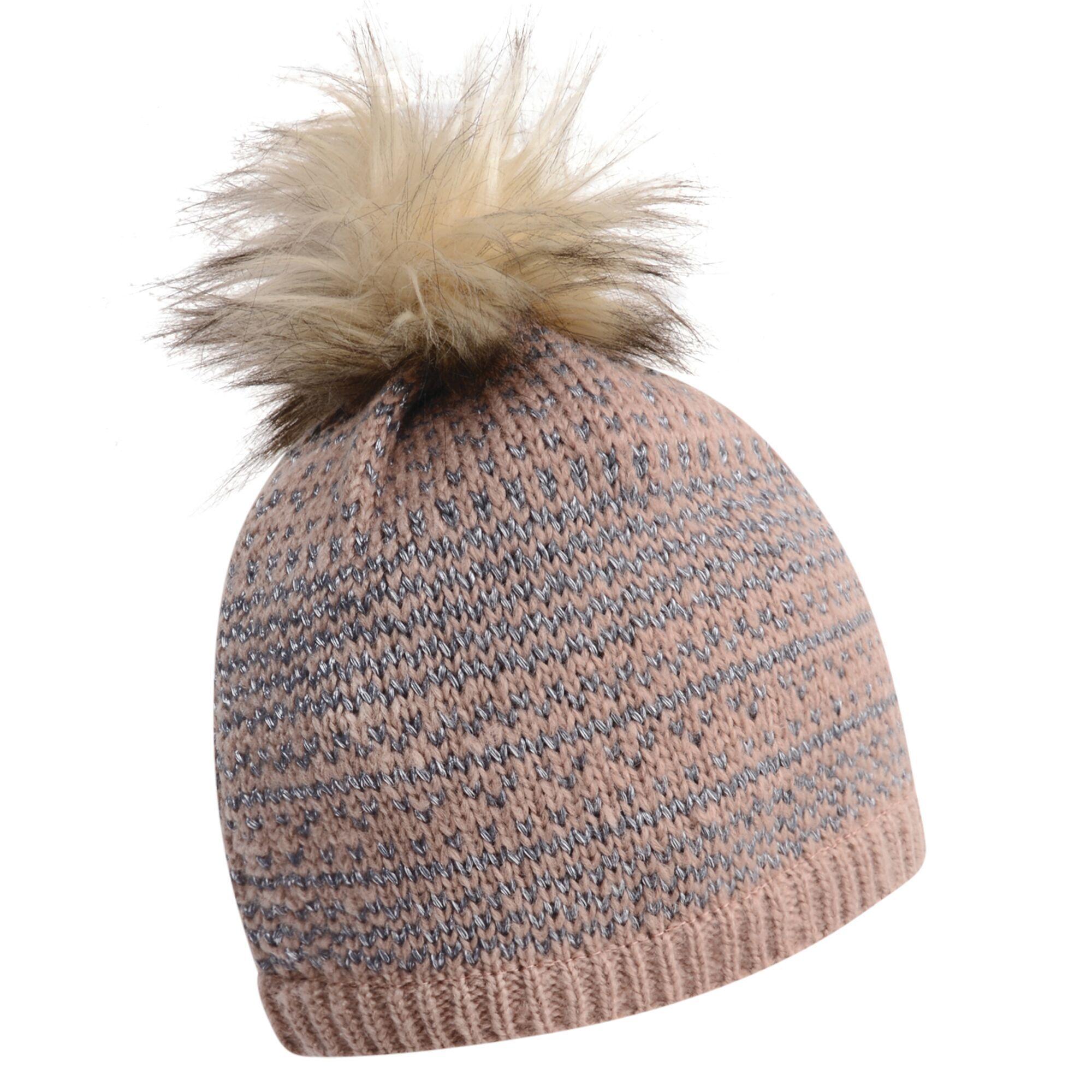 Dare 2b Womens/Ladies Vitalize Faux Fur Bobble Hat