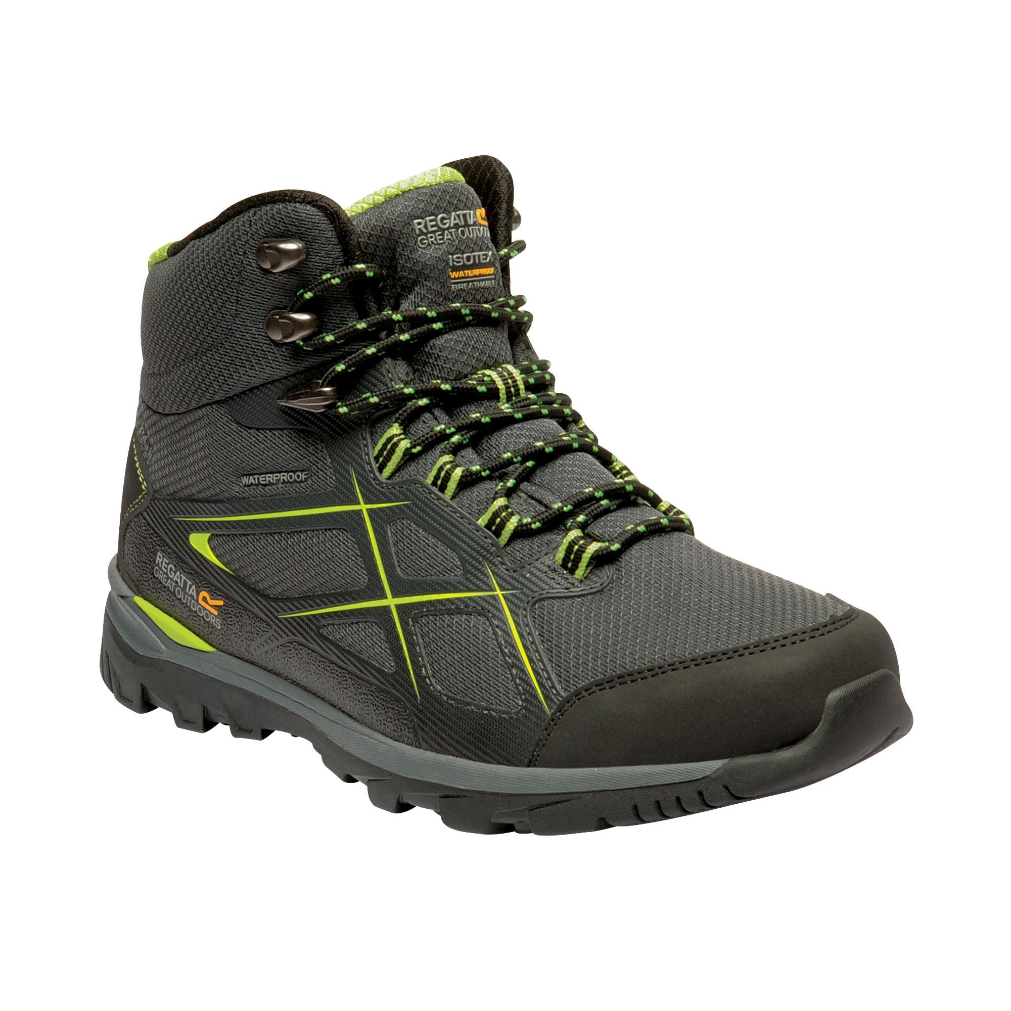 Regatta Great Outdoors Mens Kota Mid II Waterproof Walking Boots
