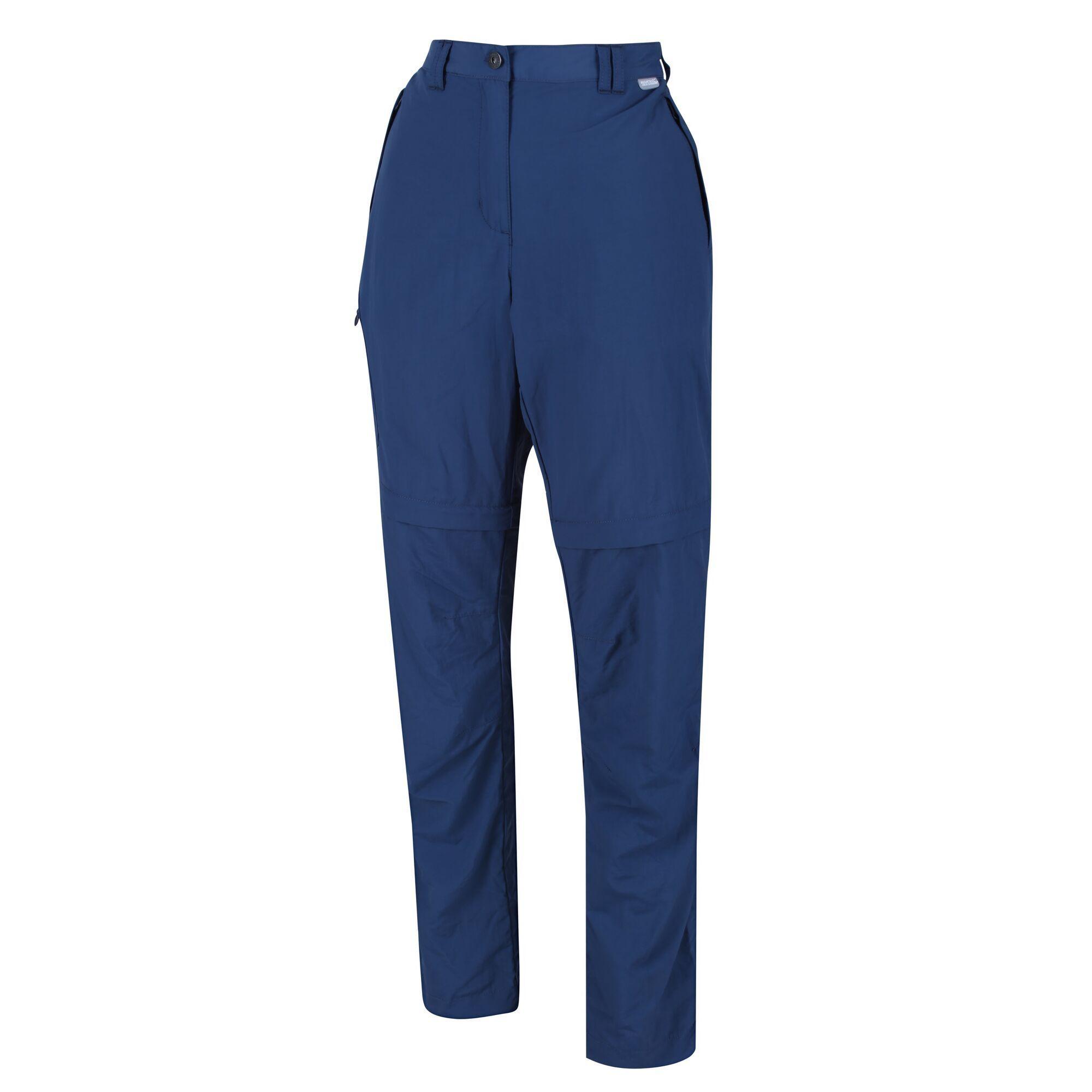 Regatta Womens/Ladies Chaska II Zip Off Trousers