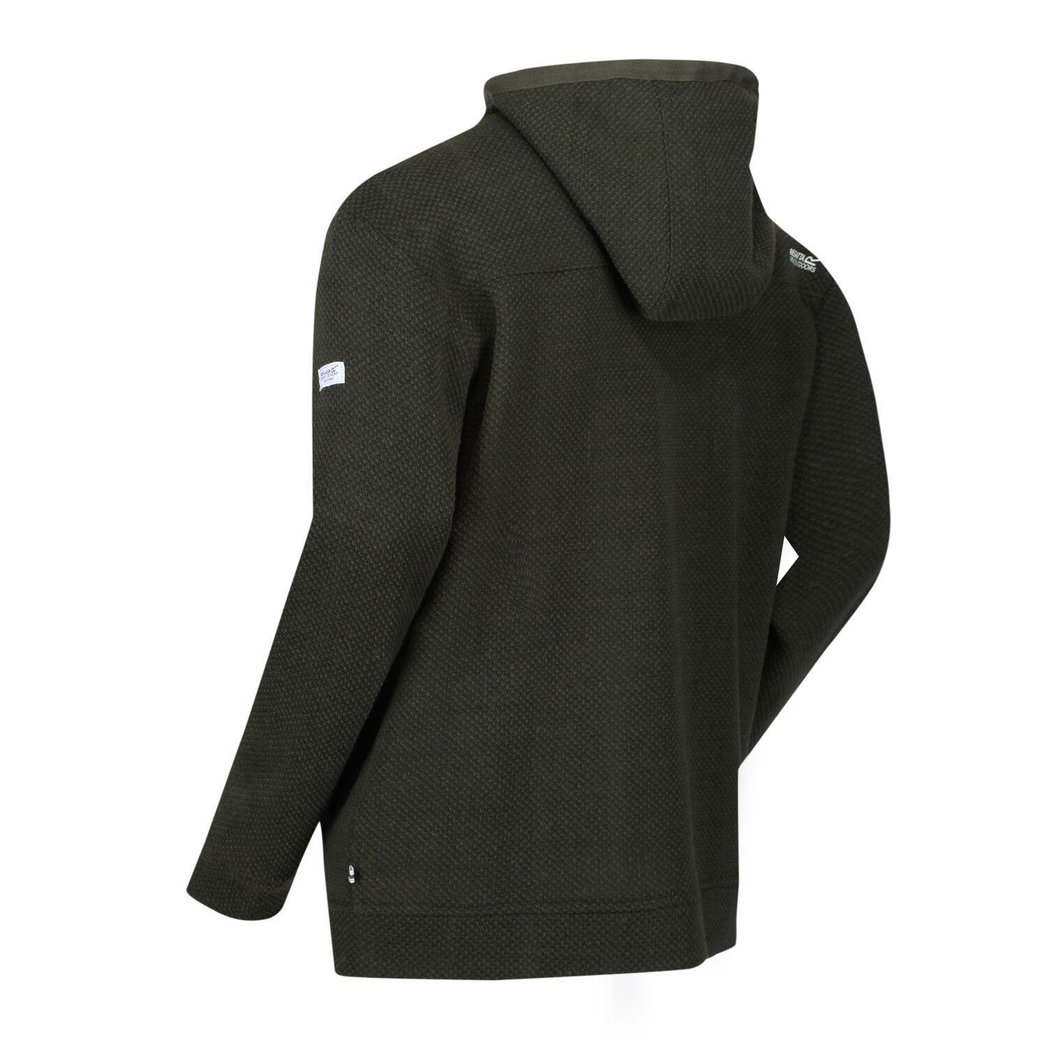 Regatta Mens Laszlo Full Zip Hooded Fleece