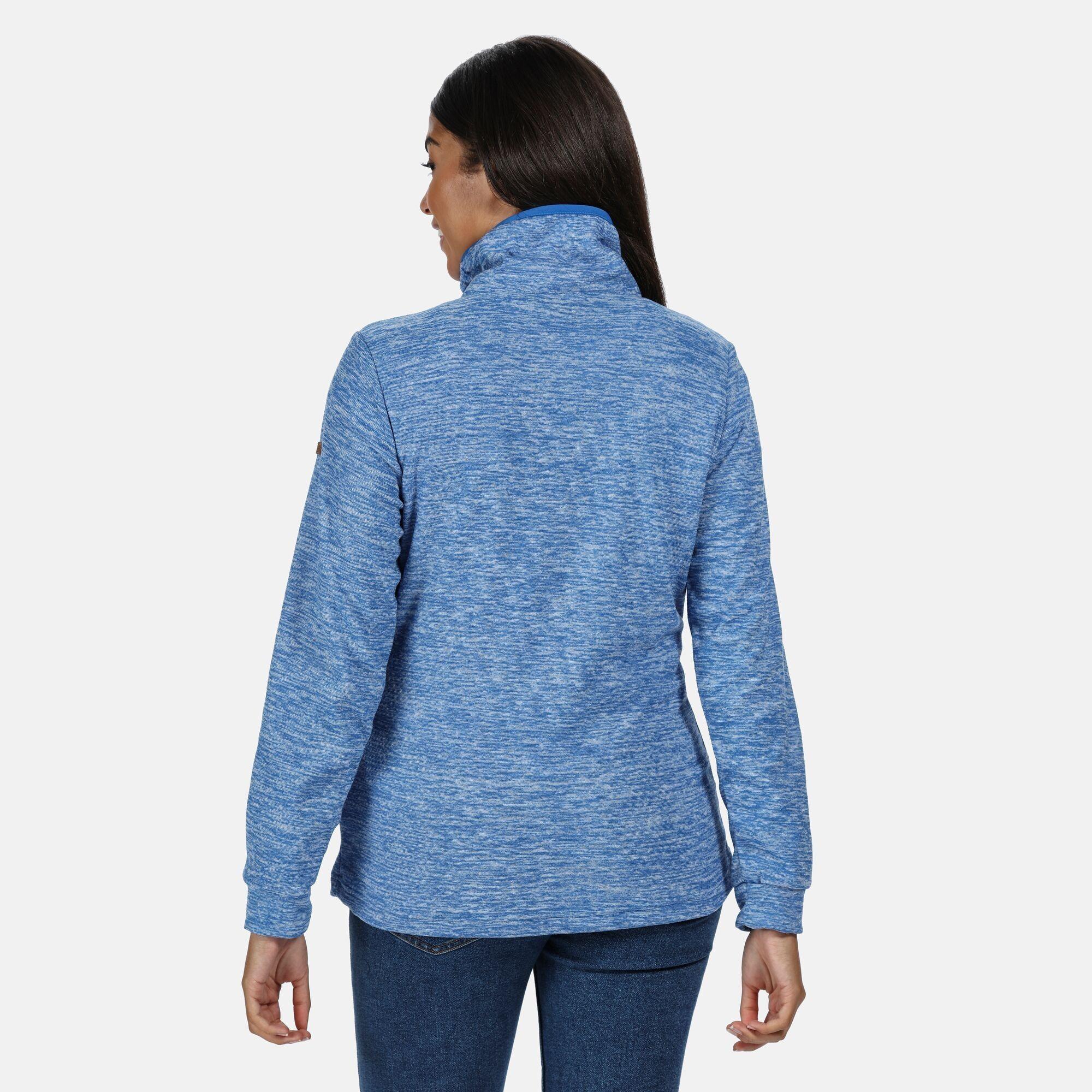 Regatta Womens/Ladies Evanna Full Zip Lightweight Fleece (Strong Blue)