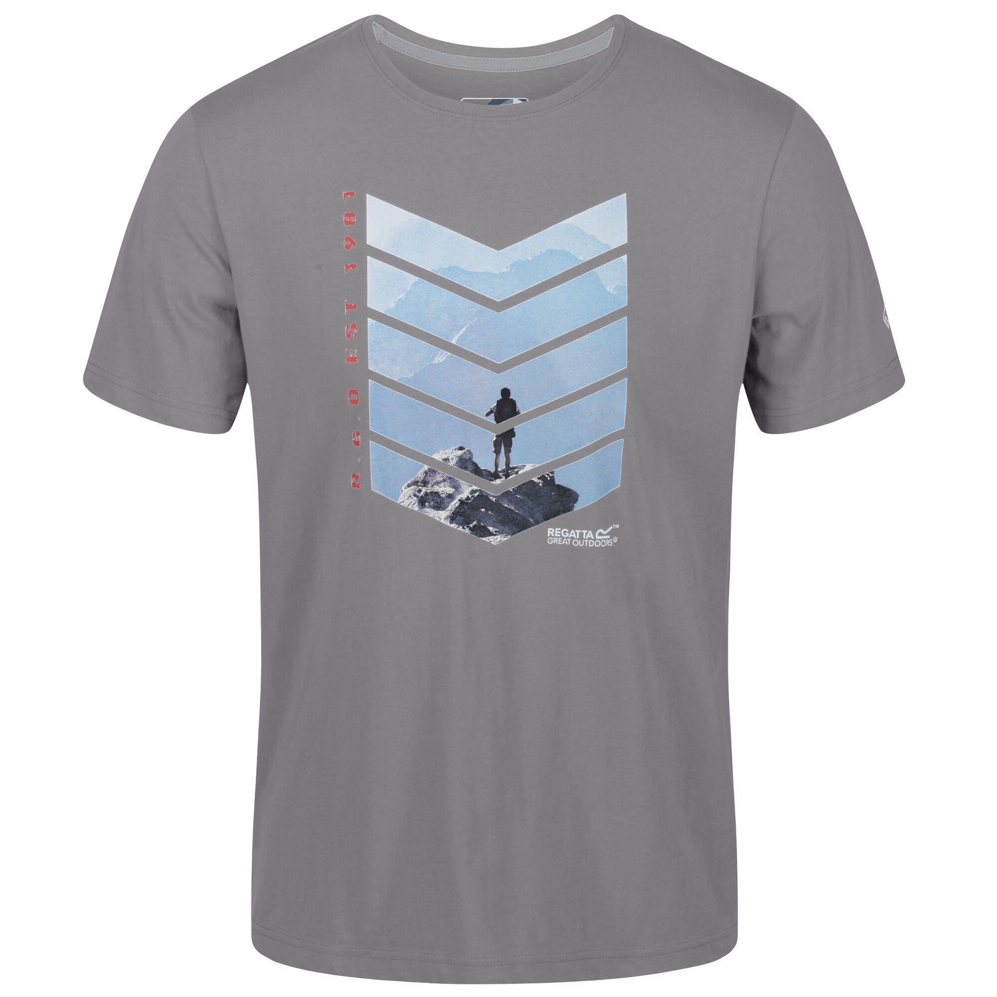 Regatta Mens Breezed Graphic T-Shirt