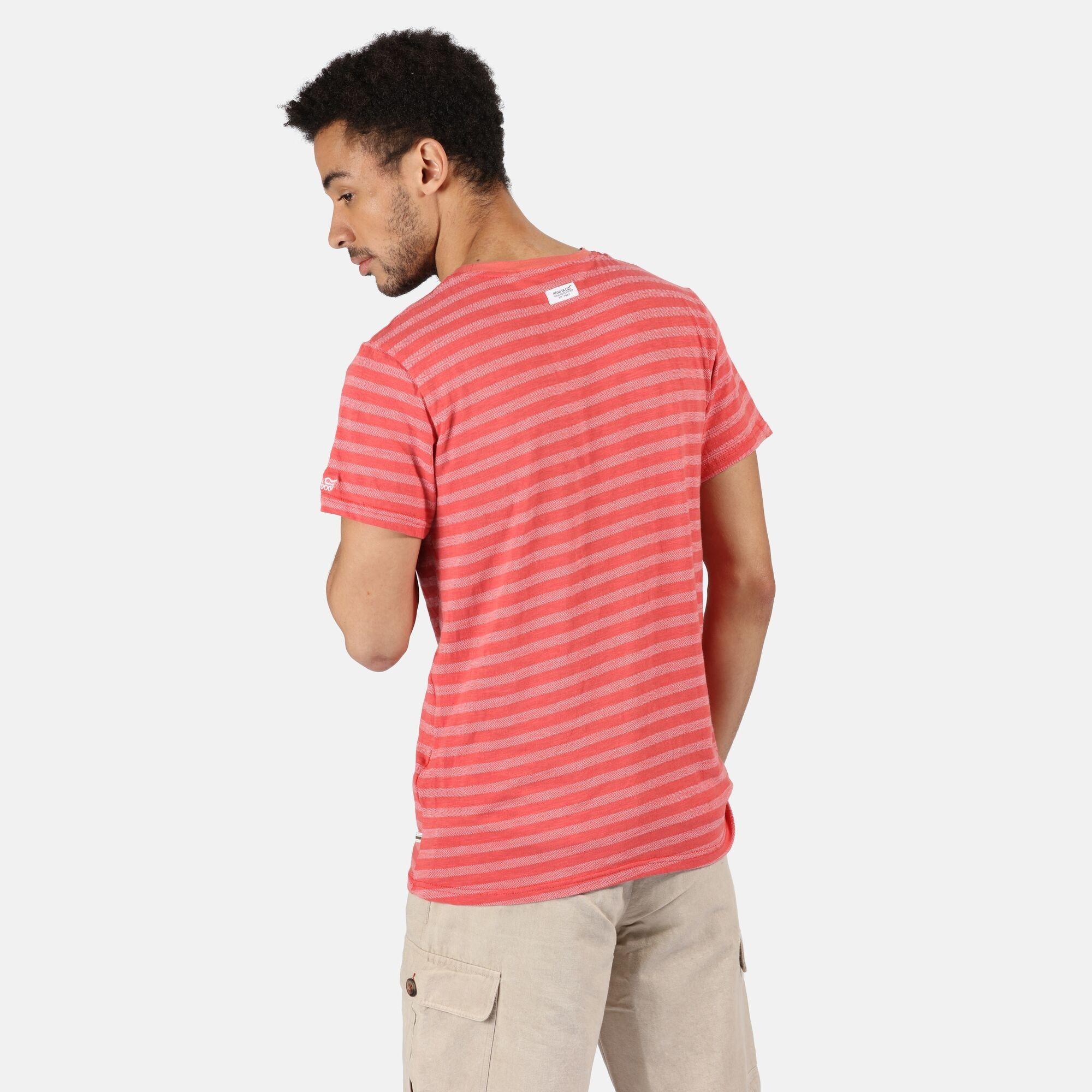 Regatta Mens Tariq Striped T-Shirt