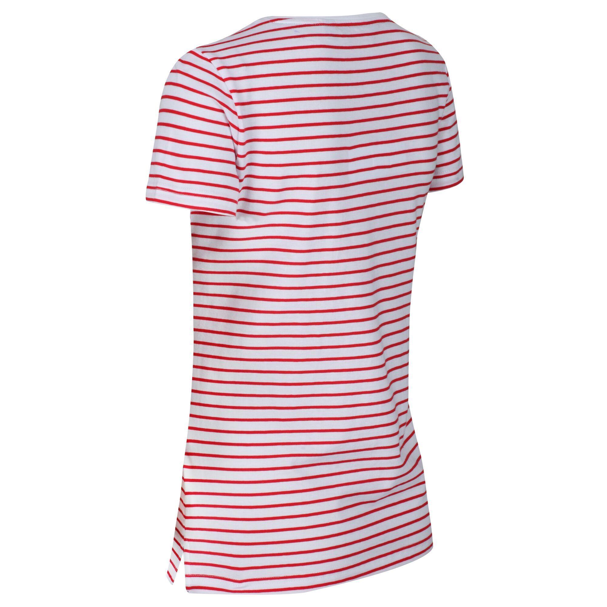 Regatta Womens/Ladies Olwyn Striped Carpe Diem T-Shirt