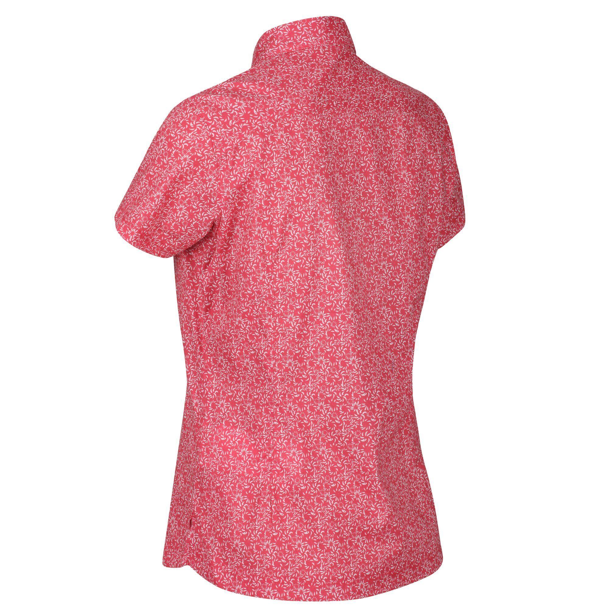 Regatta Womens/Ladies Honshu IV Printed Short Sleeved Shirt