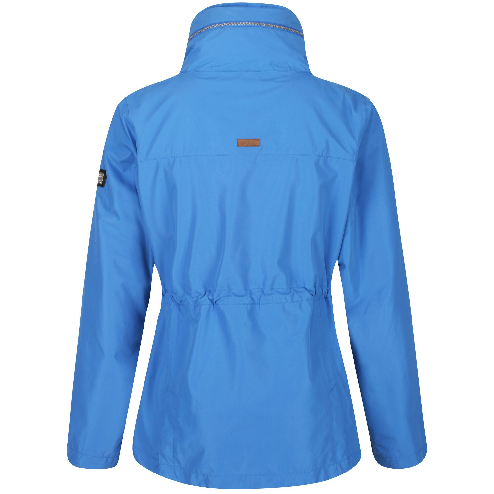 Regatta Womens/Ladies Narelle Waterproof Funnel Neck Jacket (Blue)
