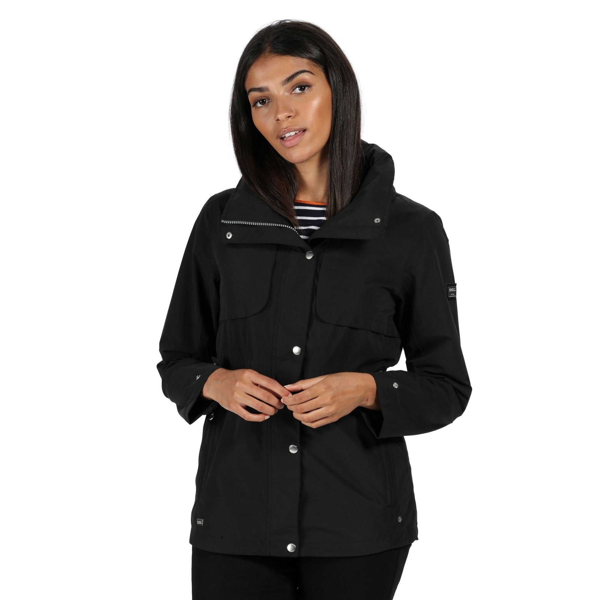 Regatta Womens/Ladies Narelle Waterproof Funnel Neck Jacket