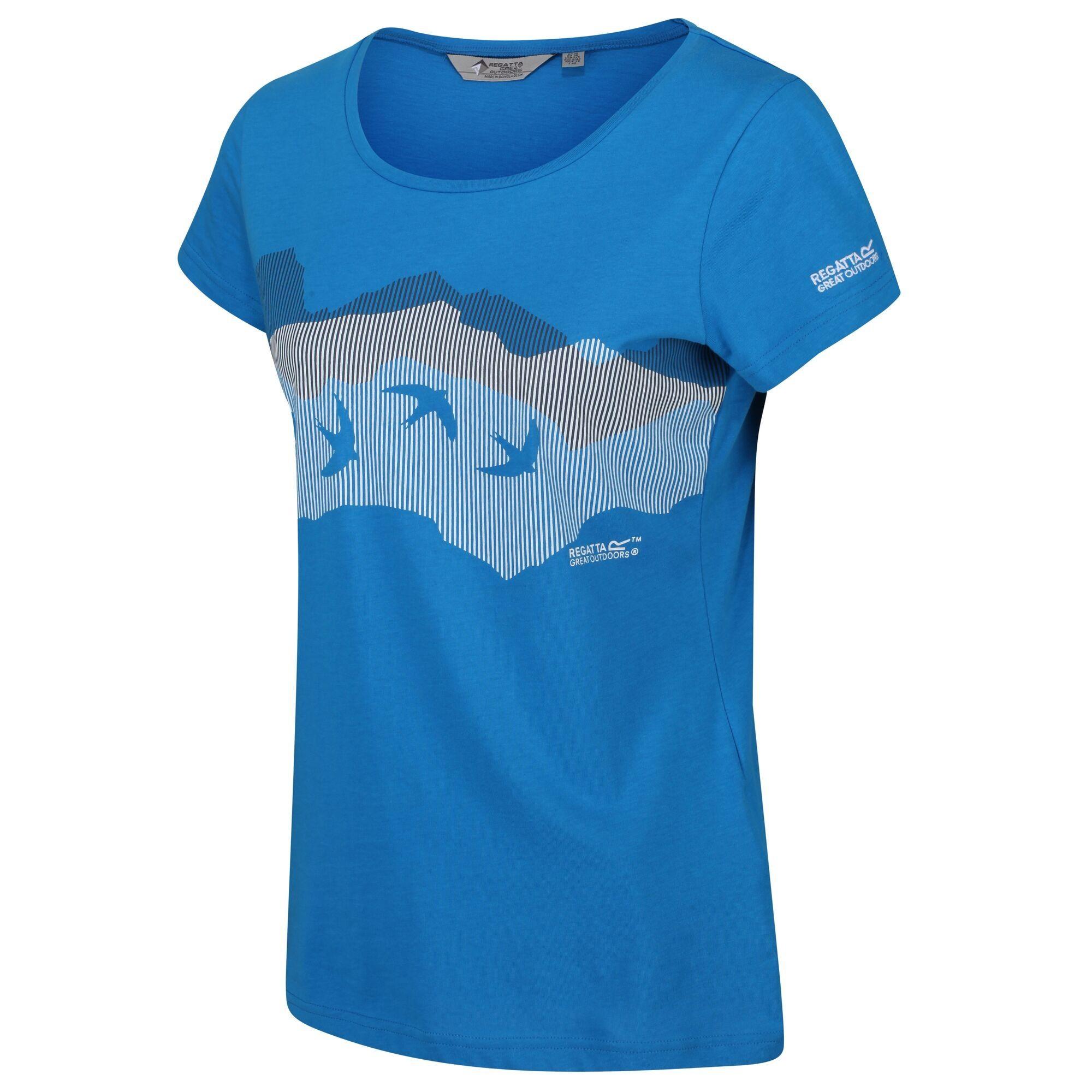 Regatta Womens/Ladies Breezed Graphic T-Shirt