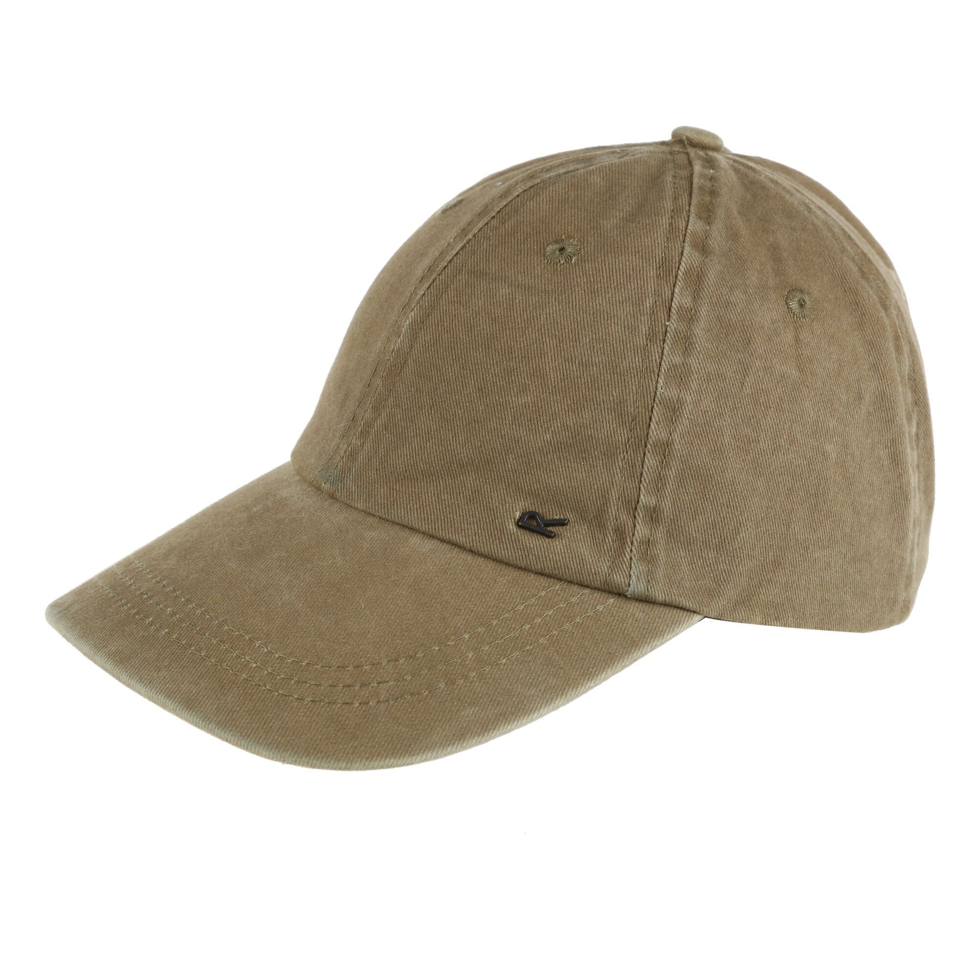 Regatta Mens Cassian Baseball Cap (Dark Khaki)
