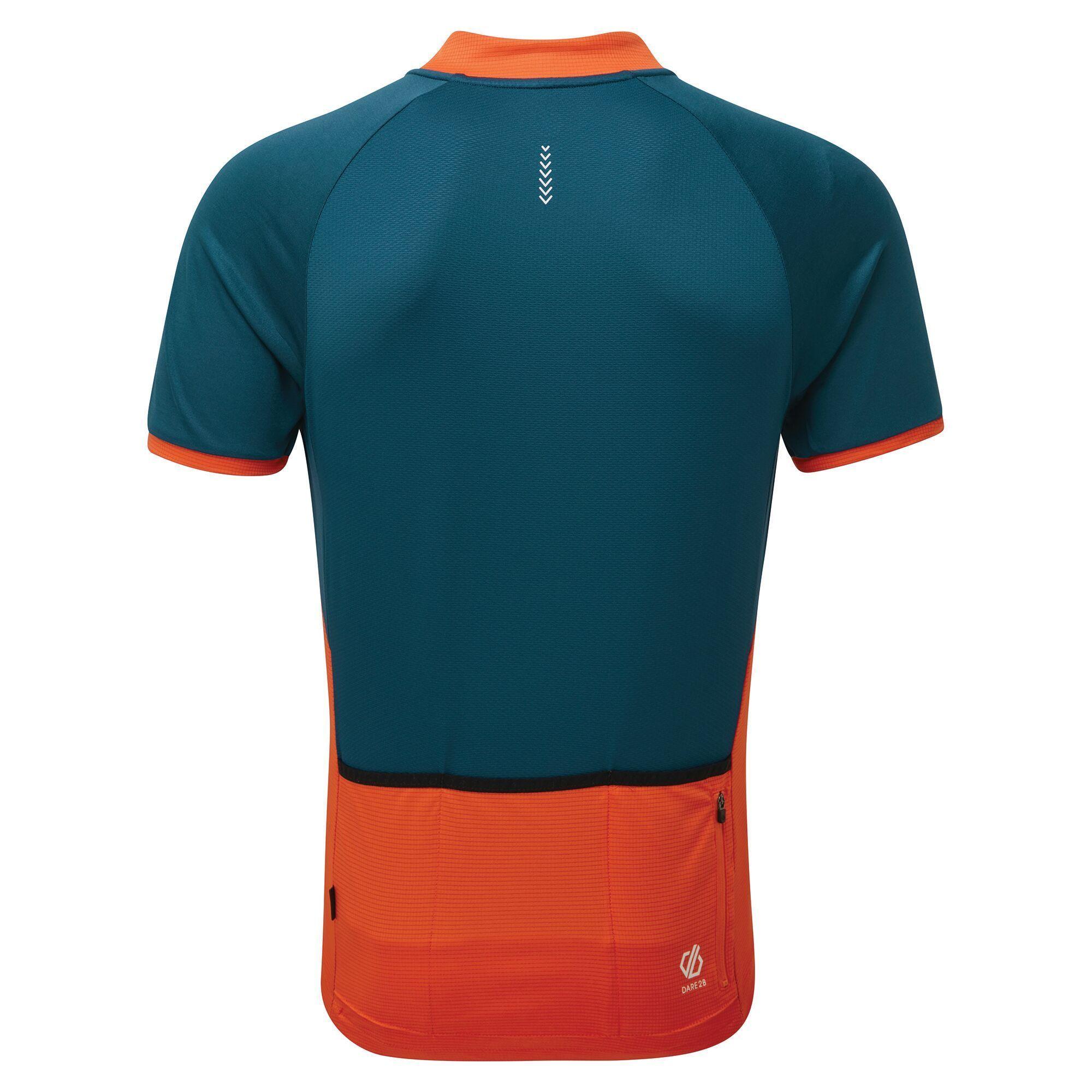 Dare 2B Mens Accurate II Full Zip Cycling Jersey