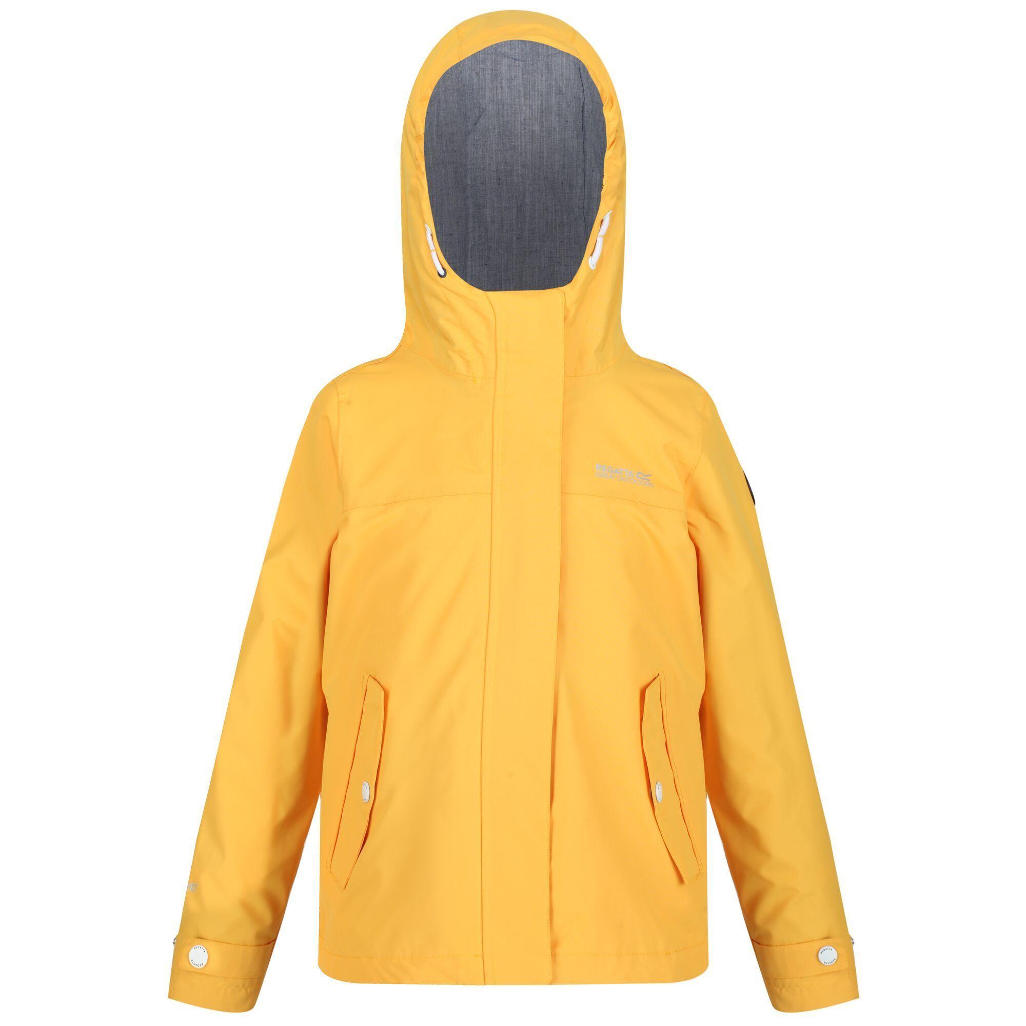 Regatta Childrens/Kids Bibiana Waterproof Jacket (California Yellow)