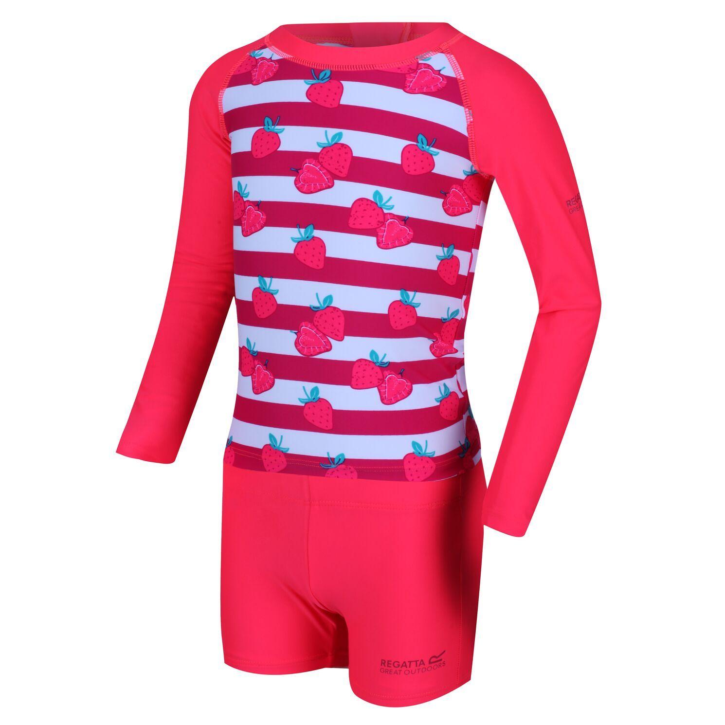 Regatta Childrens/Kids Valo Rash Suit