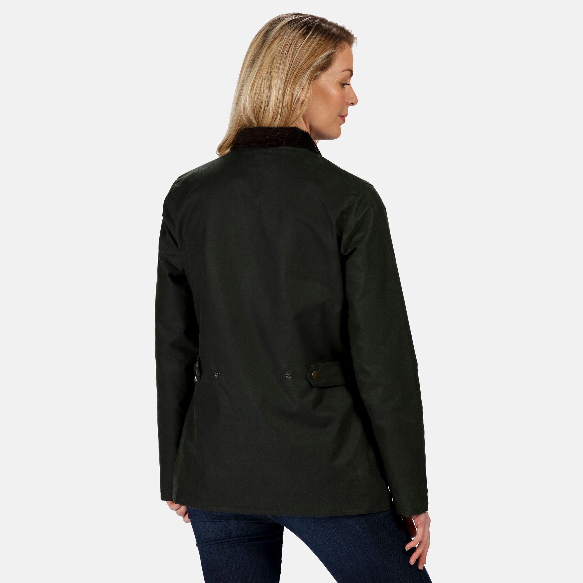 Regatta Womens/Ladies Lady Country Waterproof Jacket (Dark Khaki)