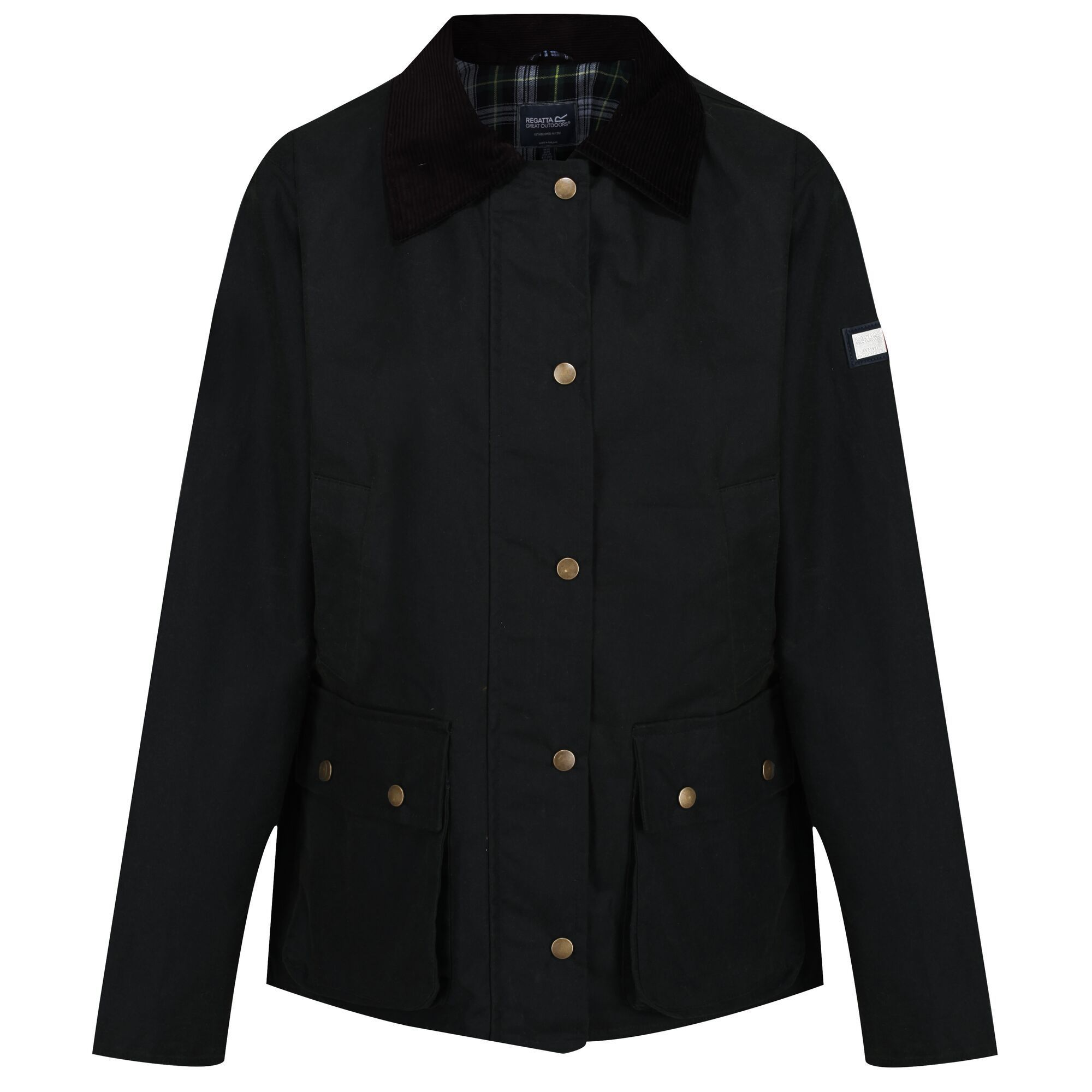 Regatta Womens/Ladies Lady Country Waterproof Jacket (Black)