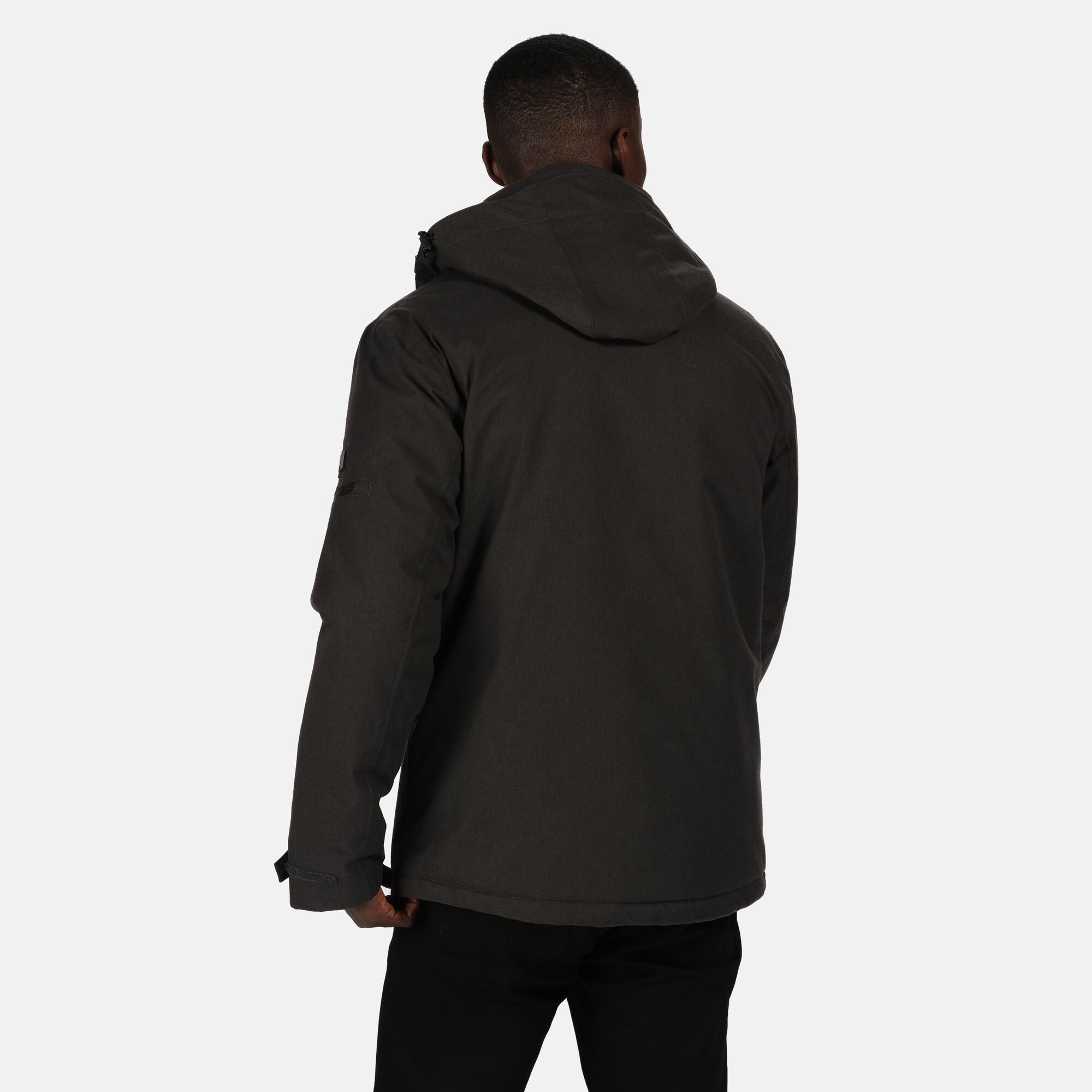 Regatta Mens Highside Insulated Waterproof Jacket (Ash)