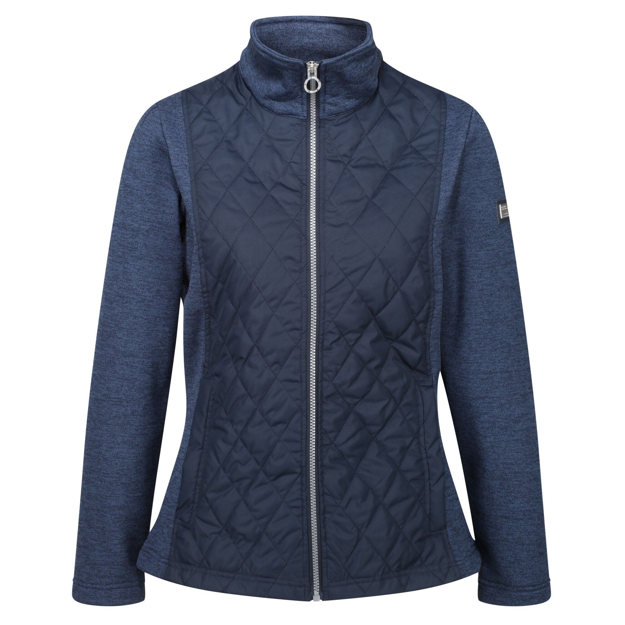 Regatta Womens/Ladies Zuzela Full Zip Fleece Jacket (Navy)