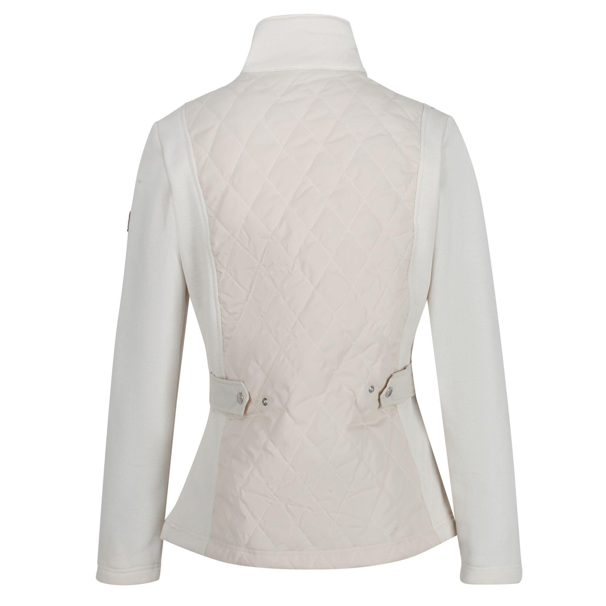 Regatta Womens/Ladies Zuzela Full Zip Fleece Jacket (Light Vanilla)