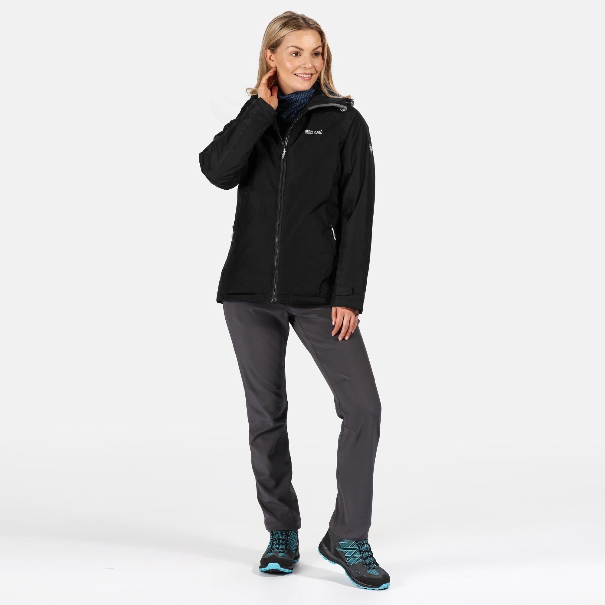 Regatta Womens/Ladies Voltera Protect Insulated Waterproof Jacket (Black)