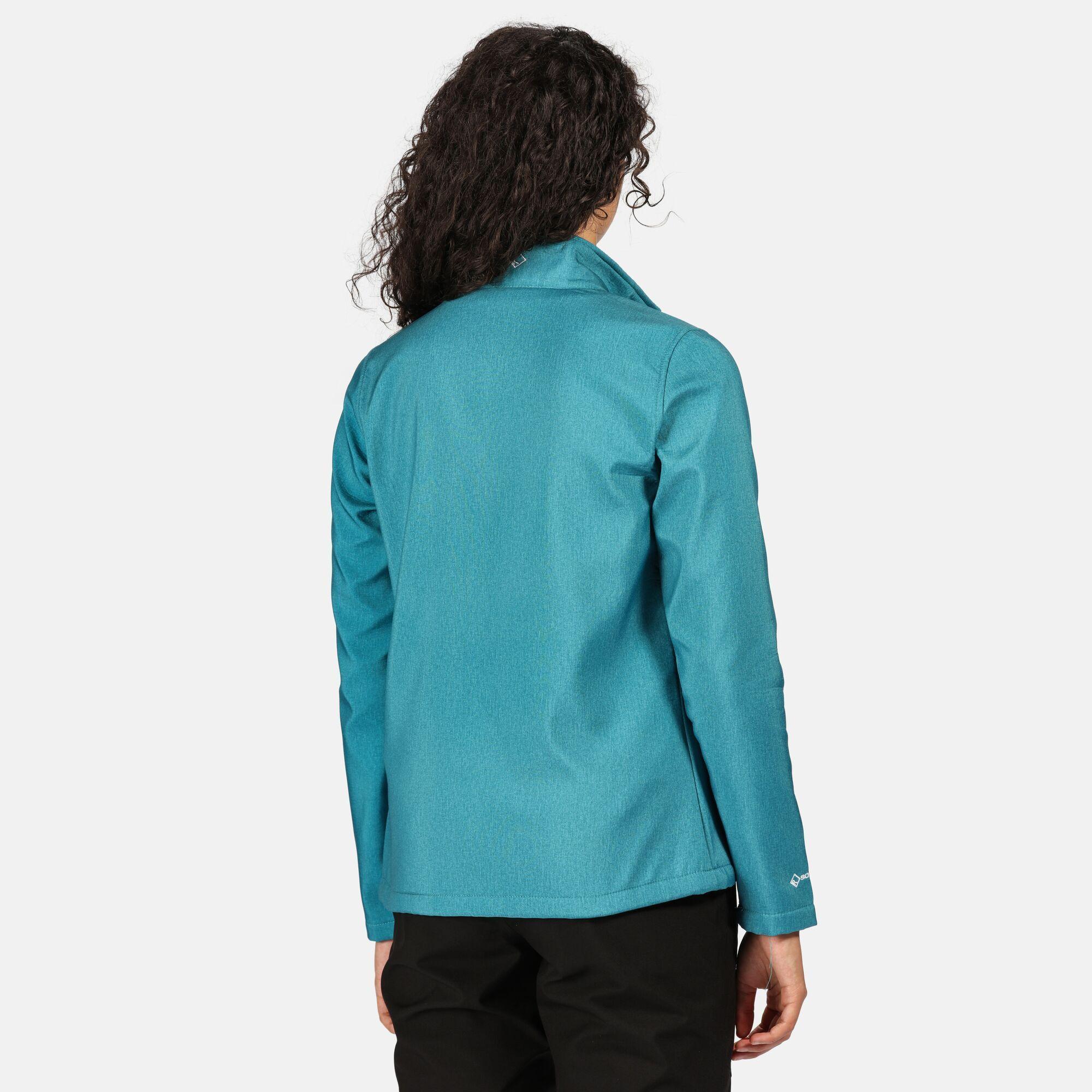 Regatta Womens/Ladies Connie IV Soft Shell Jacket (Sea Blue)