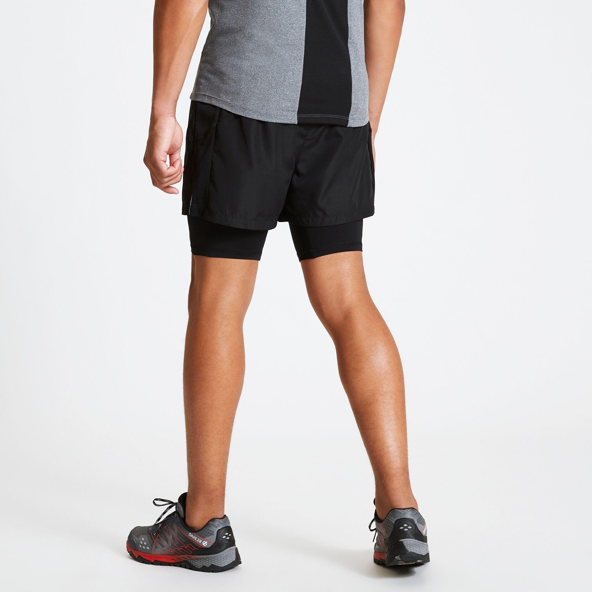 Dare 2B Mens Recreate Gym Shorts (Black)