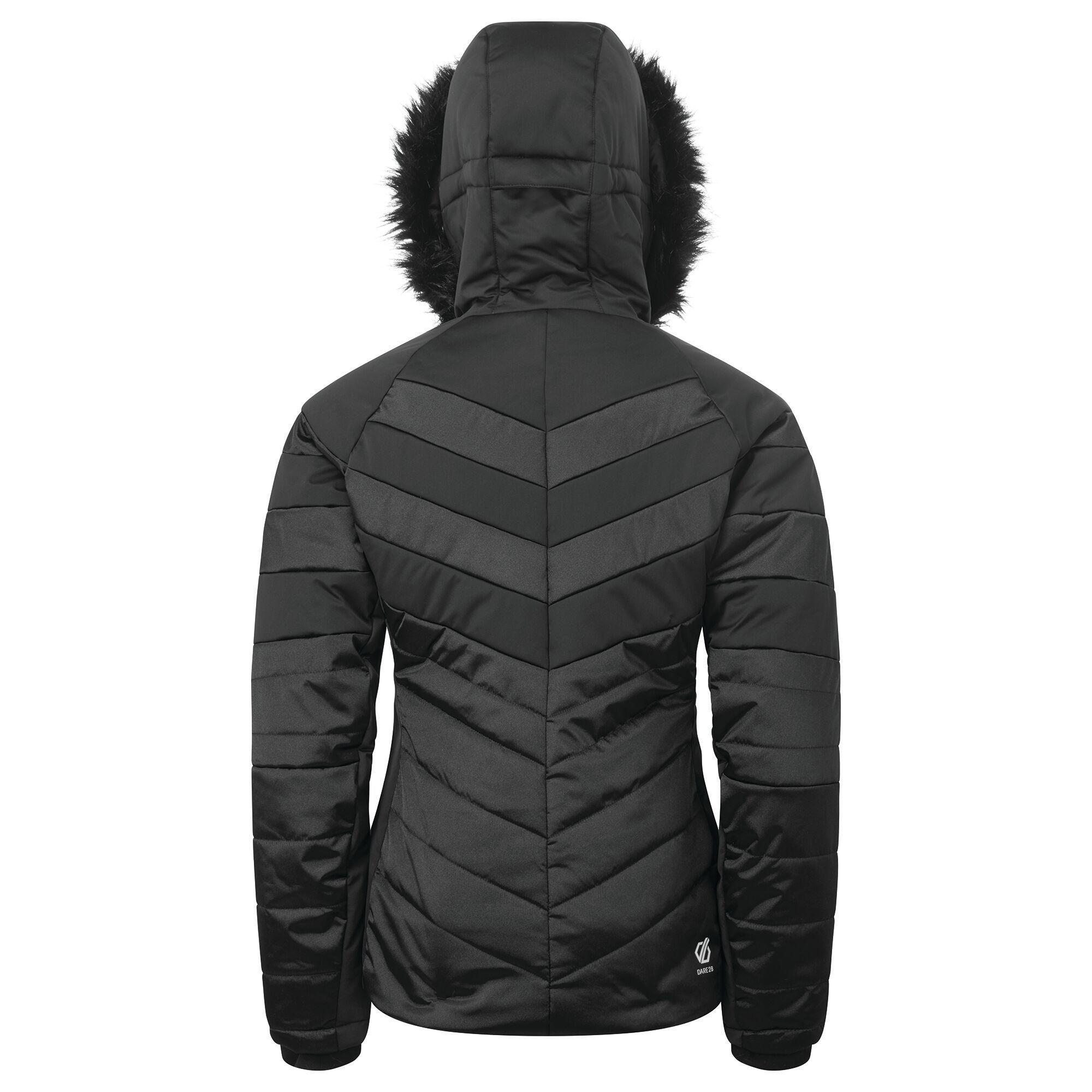 Dare 2B Womens/Ladies Dazzling Ski Jacket (Black)