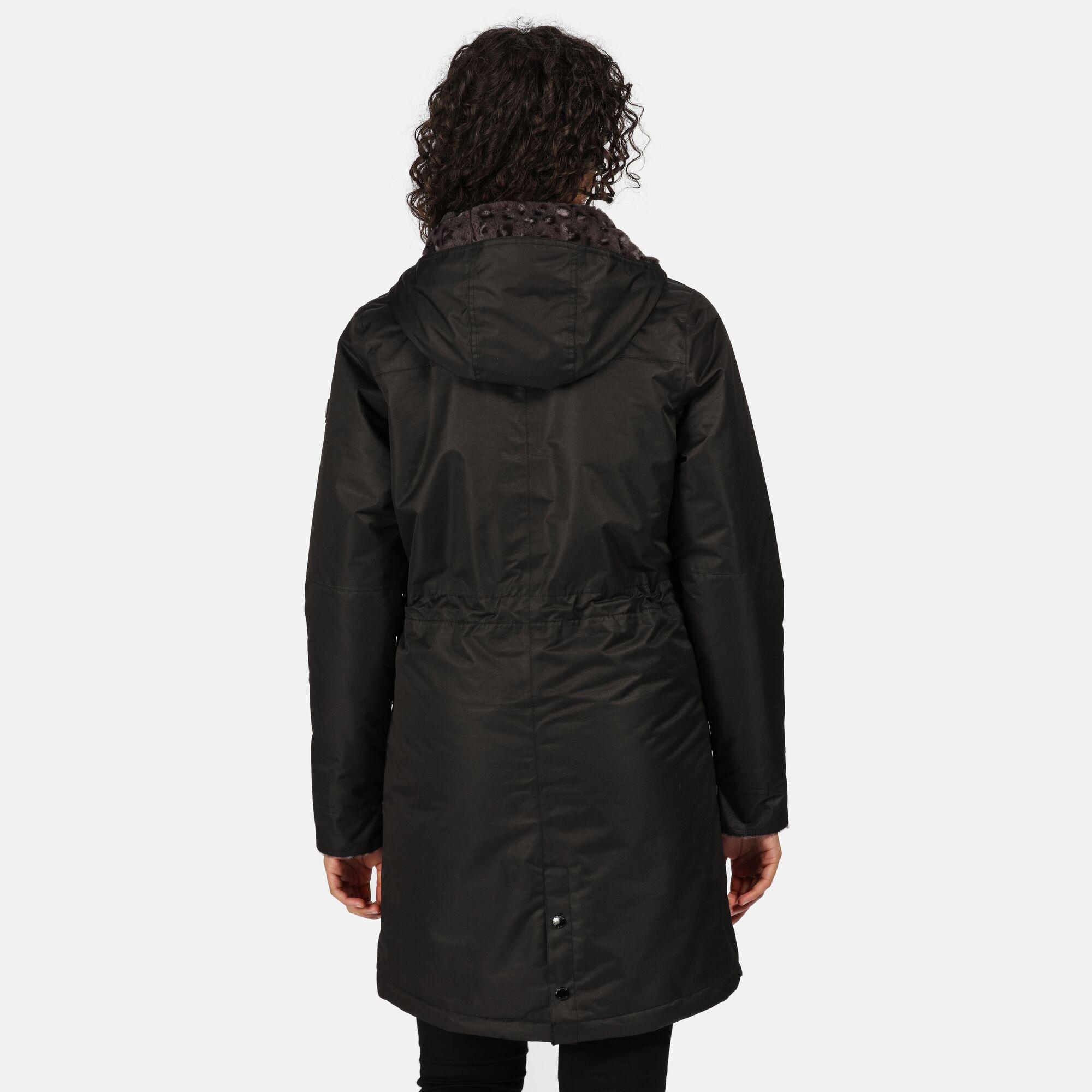 Regatta Womens/Ladies Rimona Hooded Waterproof Jacket (Black)