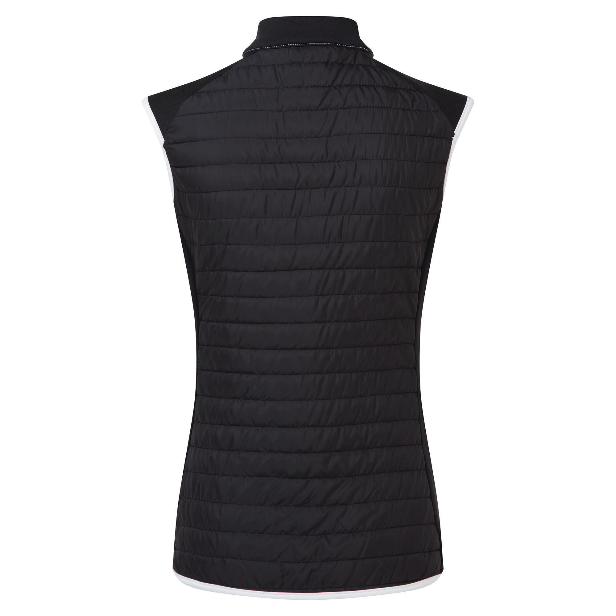 Dare 2B Womens/Ladies Surmount Body Warmer (Black/Active Pink/White)