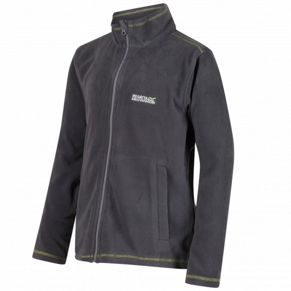 Regatta Great Outdoors Childrens/Kids King II Lightweight Full Zip Fleece Jacket