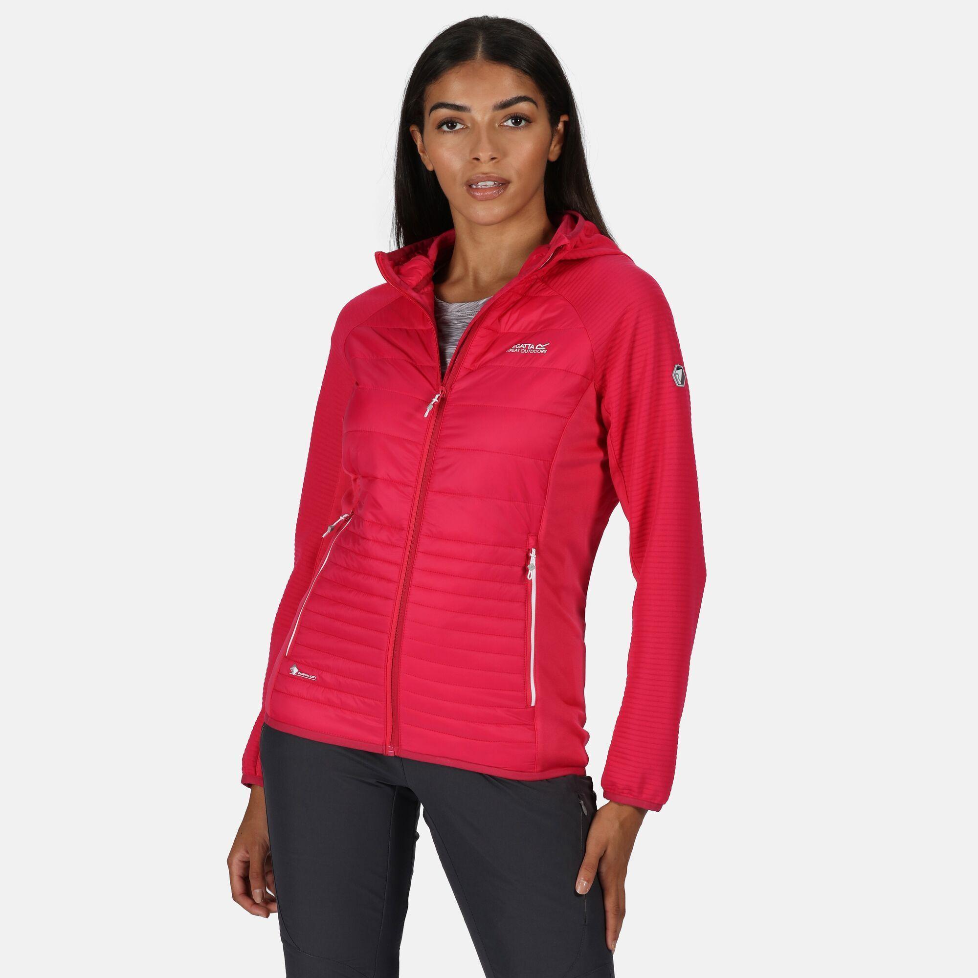 Regatta Womens/Ladies Anderson V Hybrid Walking Jacket (Duchess Pink)