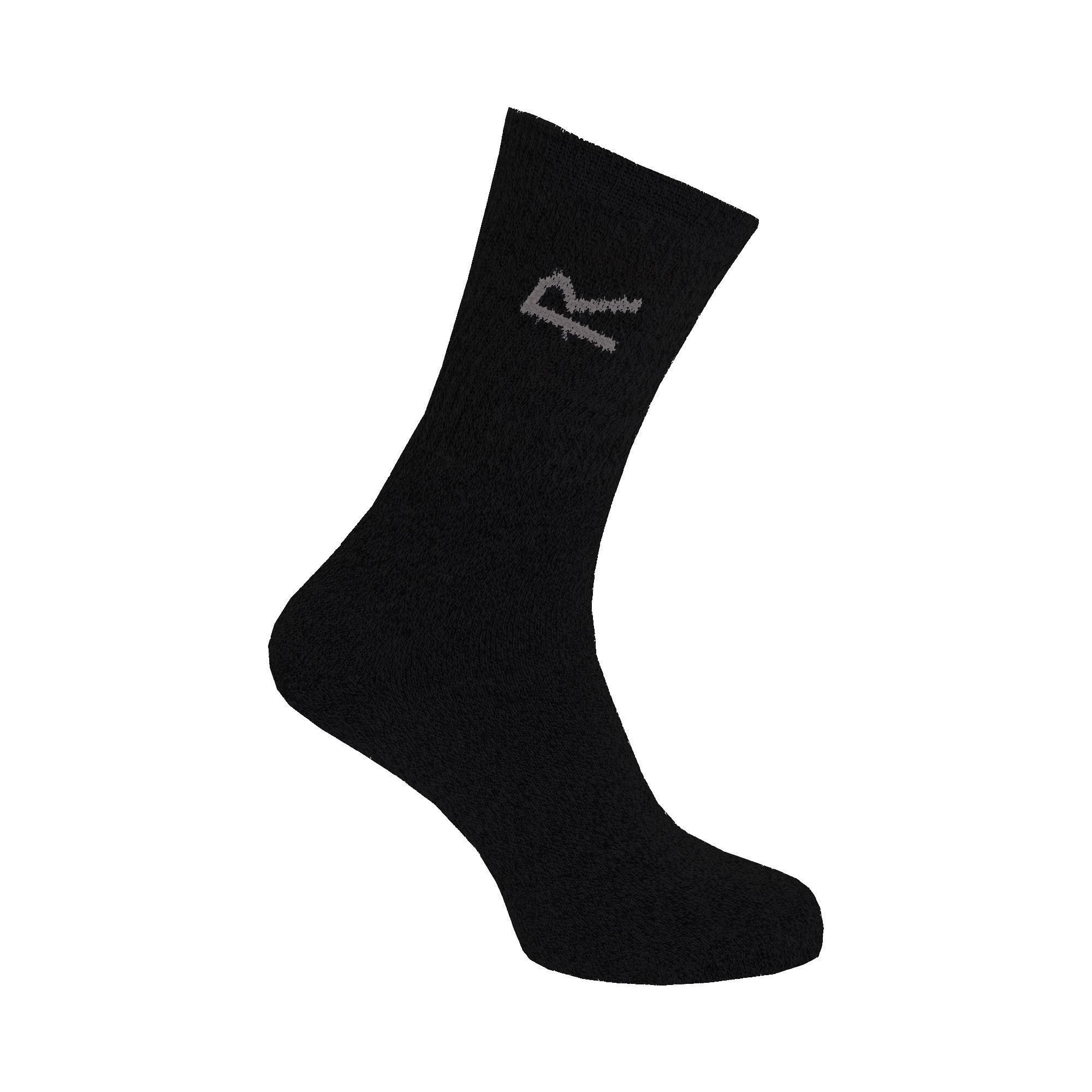 Regatta Great Outdoors Mens Cotton Rich Casual Socks (Pack Of 3)