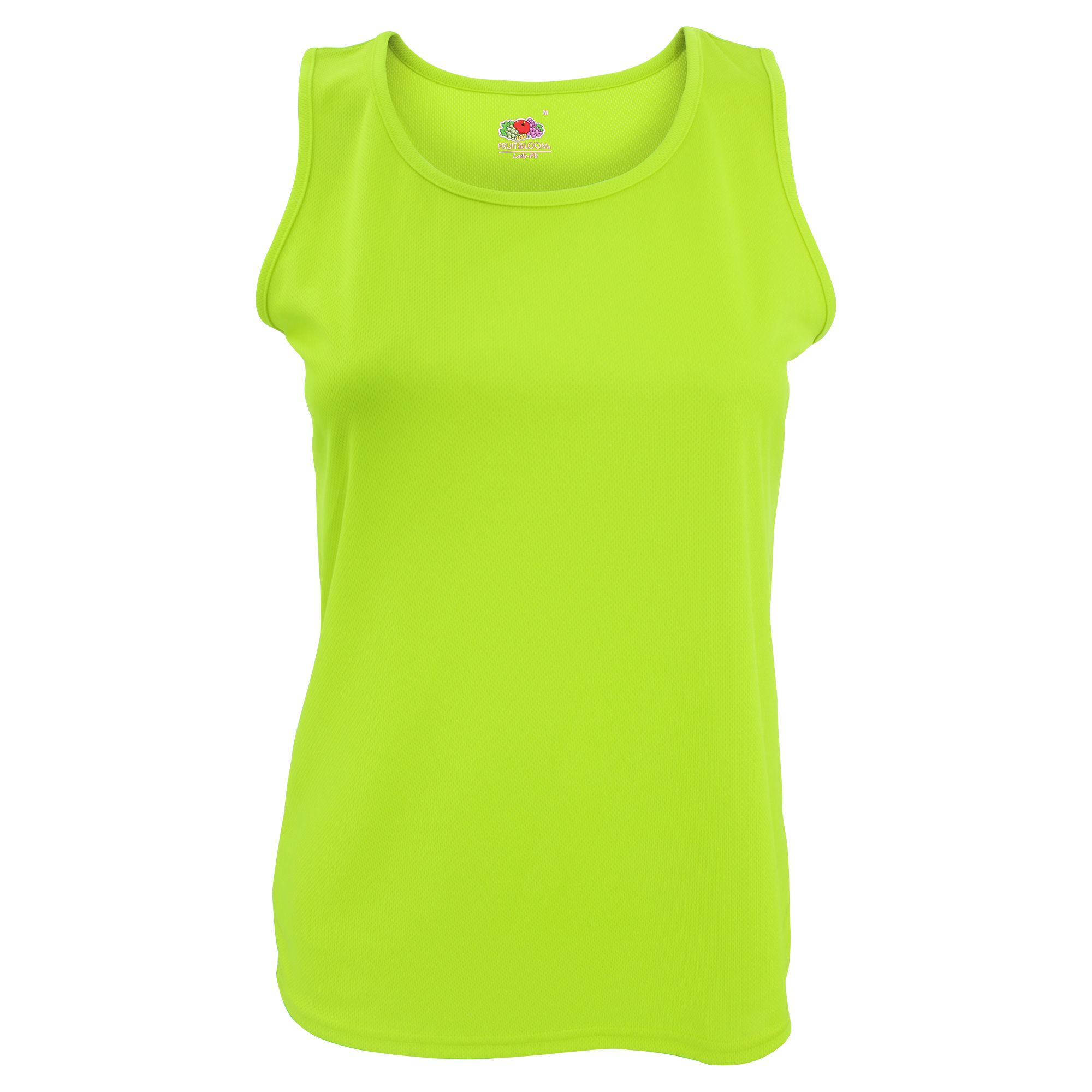 Fruit Of The Loom Womens/Ladies Sleeveless Lady-Fit Performance Vest Top