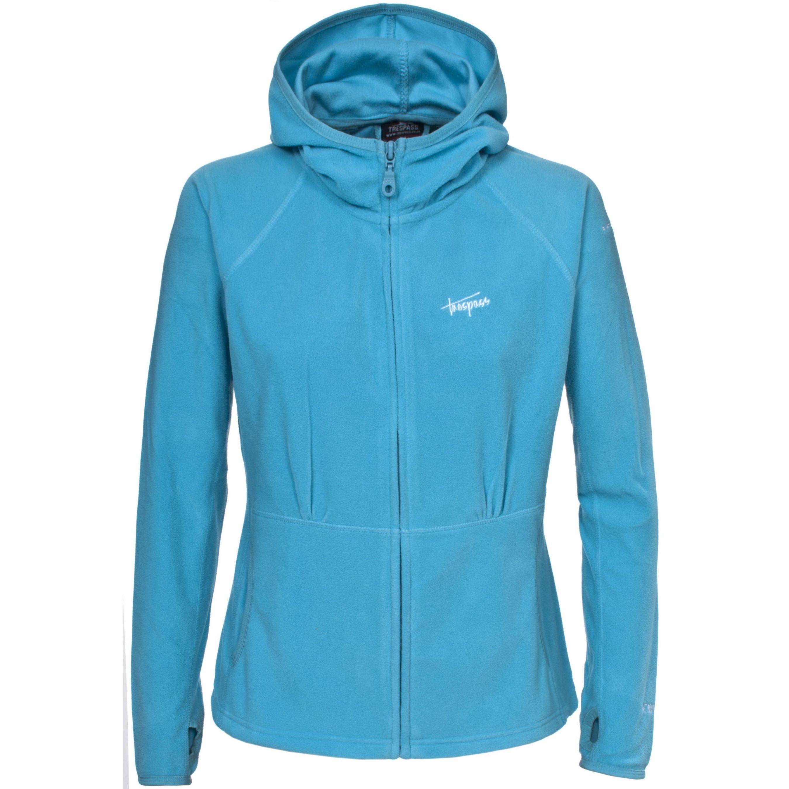 Trespass Womens/Ladies Marathon Hooded Full Zip Fleece Jacket