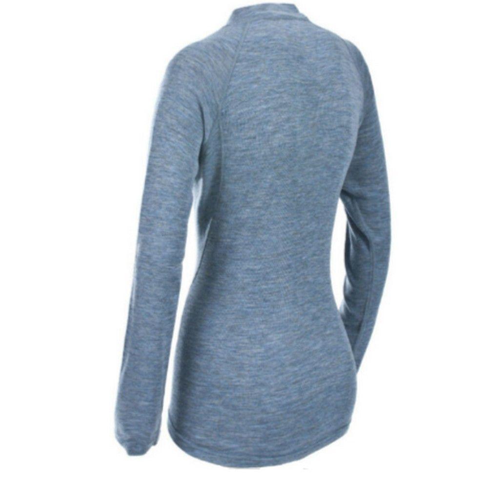 Trespass Womens/Ladies Stalk Long Sleeve Zip Neck Baselayer Top