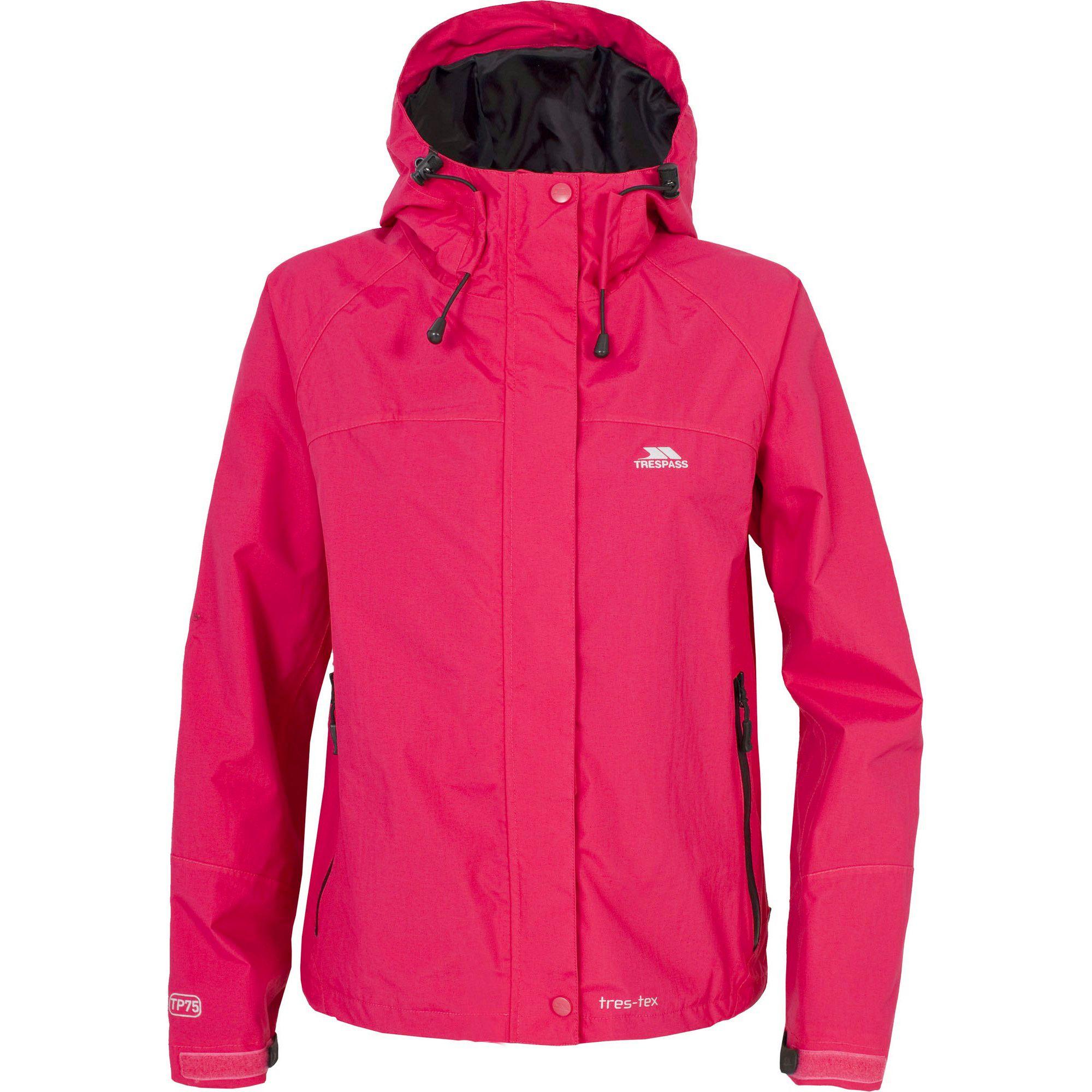 Trespass Womens/Ladies Miyake Hooded Waterproof Jacket