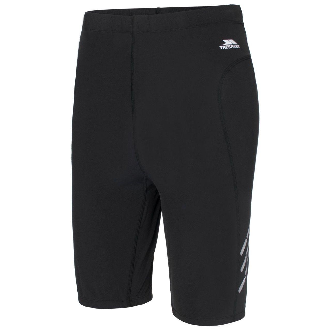 Trespass Mens Crawl Athletic Sport Base Layer Shorts