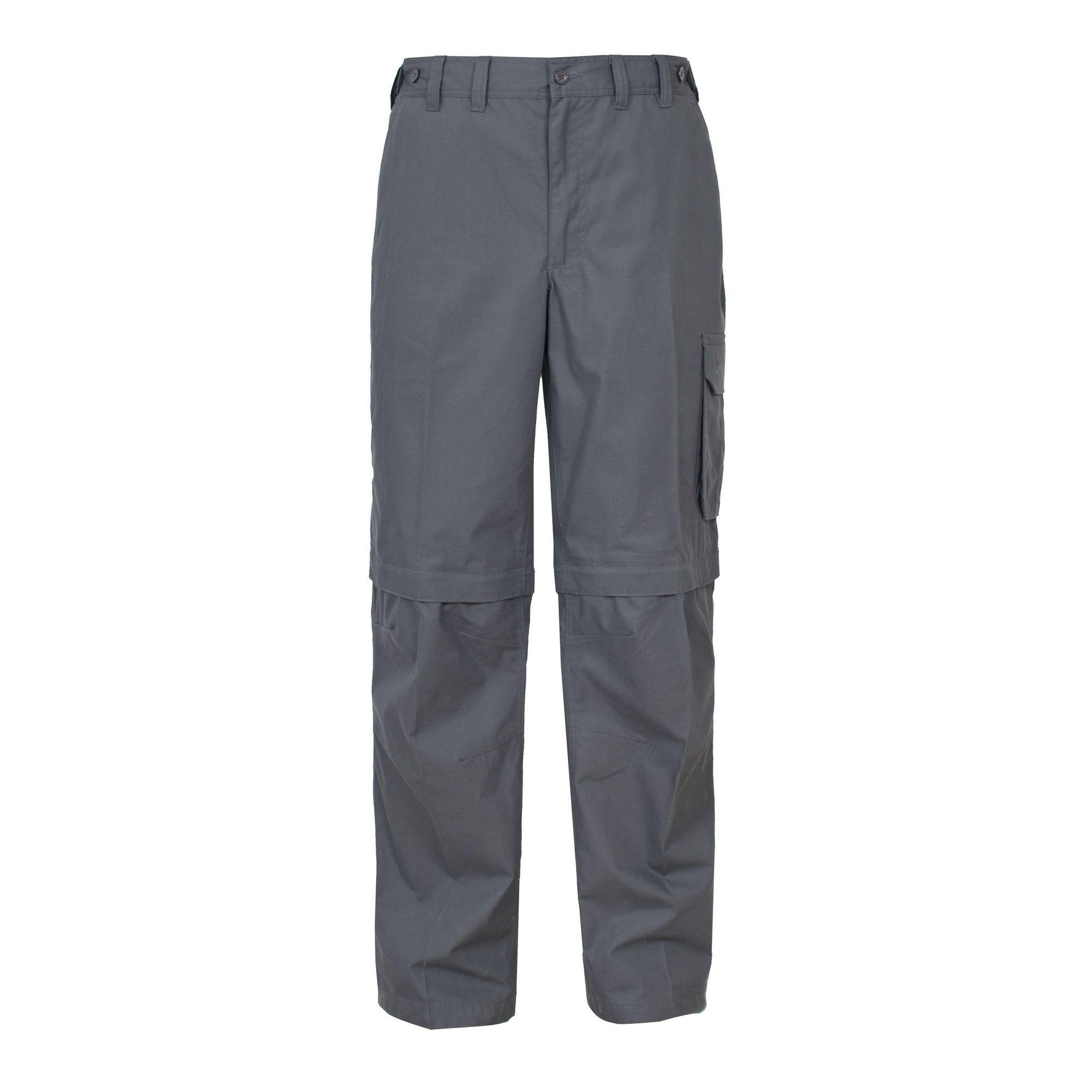 Trespass Mens Mallik Convertible Water Repellent Cargo Trousers
