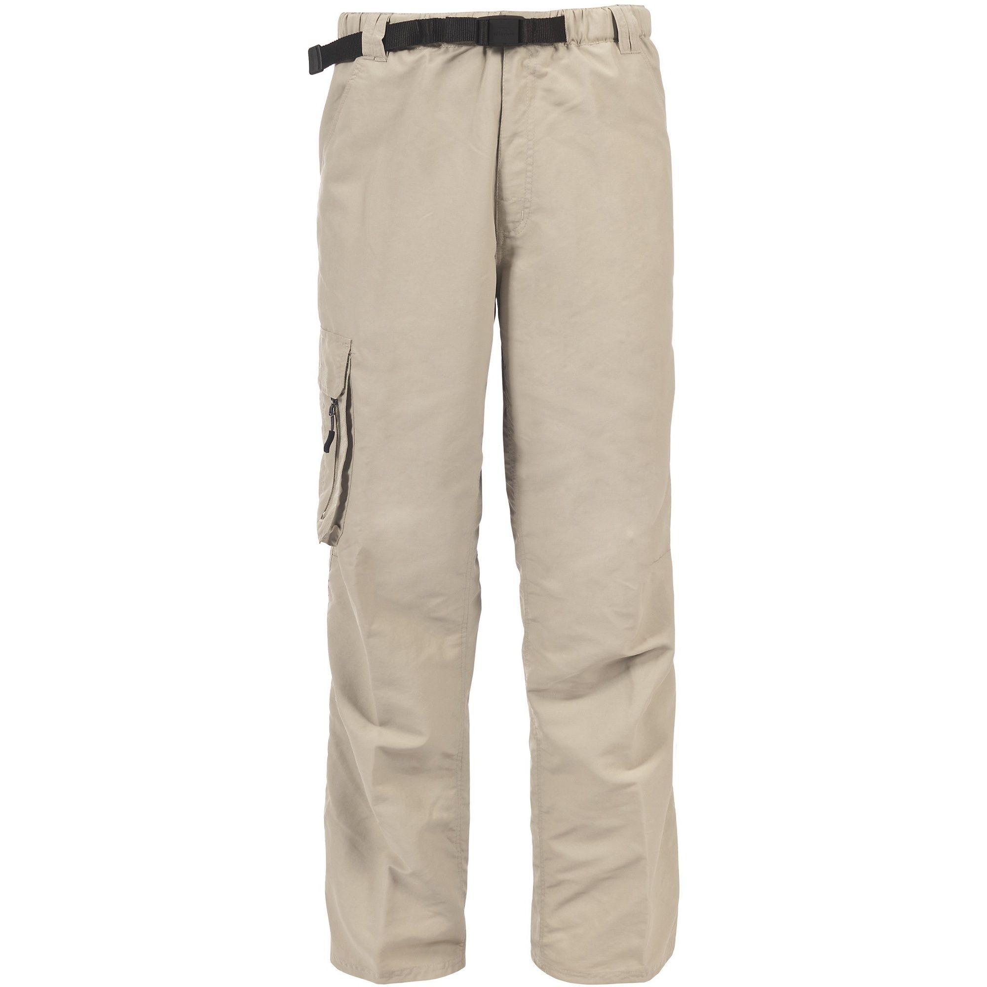 Trespass Mens Baslow Water Repellent Cargo Trousers (Bamboo)