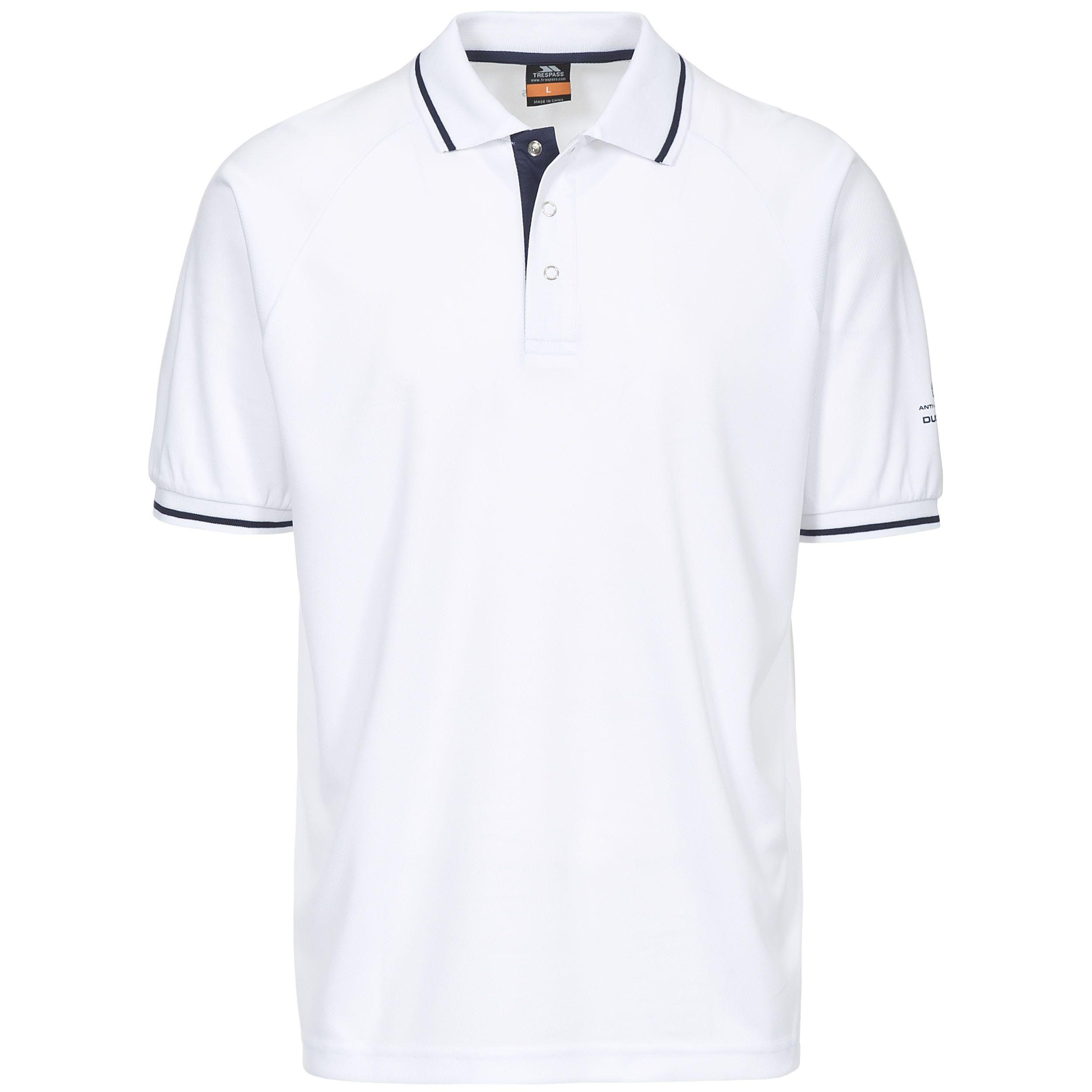 Trespass Mens Bonington Short Sleeve Active Polo Shirt