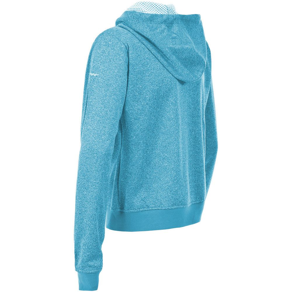 Trespass Womens/Ladies Revel Full Zip Up Hooded Fleece
