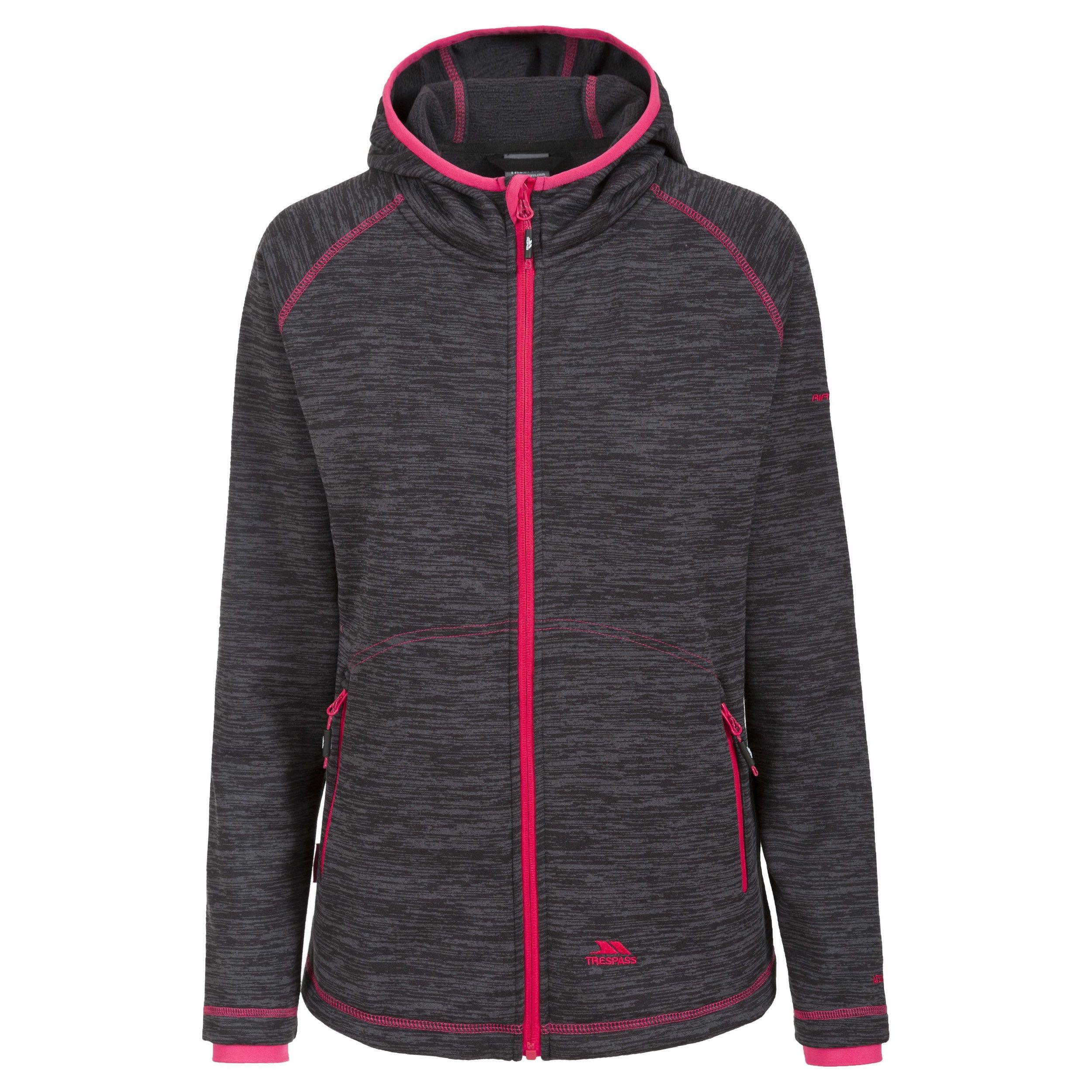 Trespass Womens/Ladies Riverstone Long Sleeve Zip Up Fleece