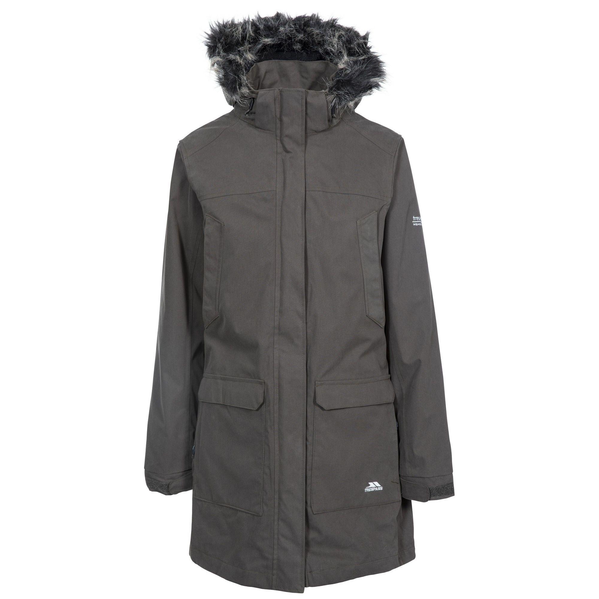 Trespass Womens/Ladies Maebell 3 In 1 Parka Waterproof Jacket