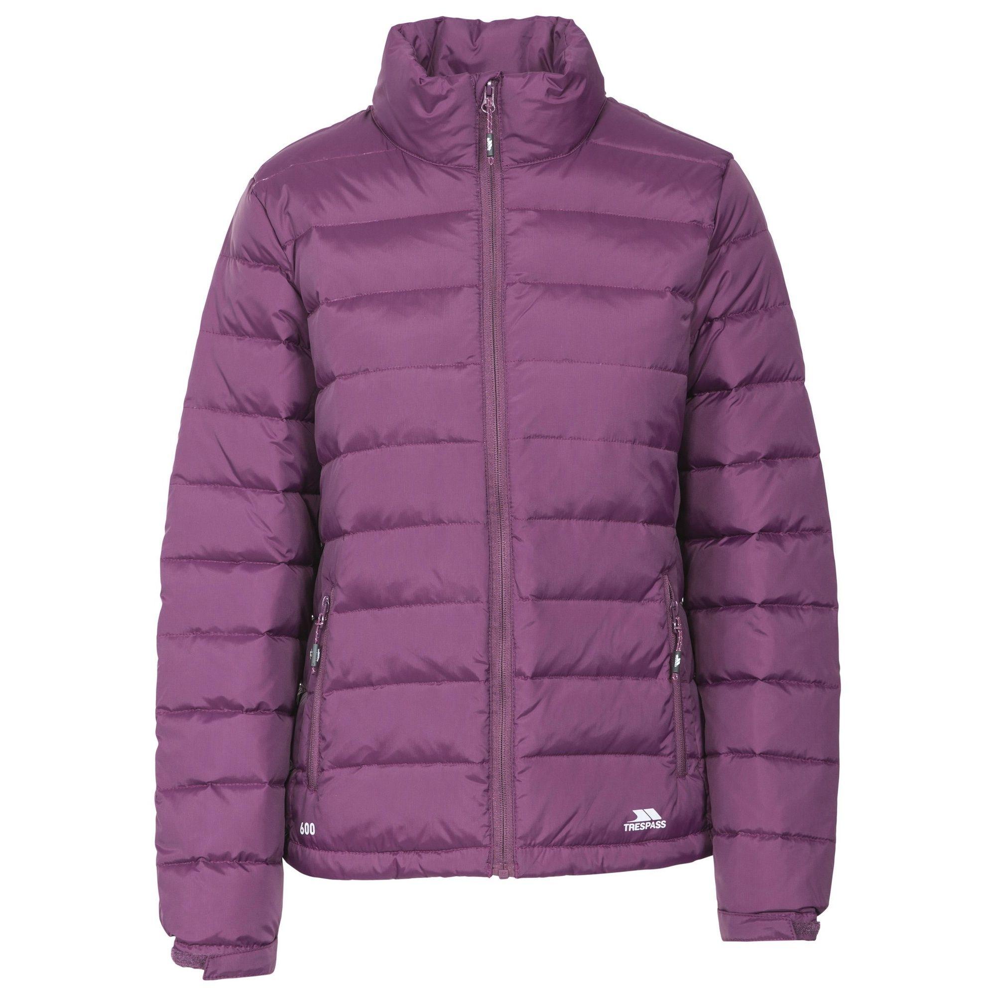 Trespass Womens/Ladies Letty Full Zip Up Down Jacket