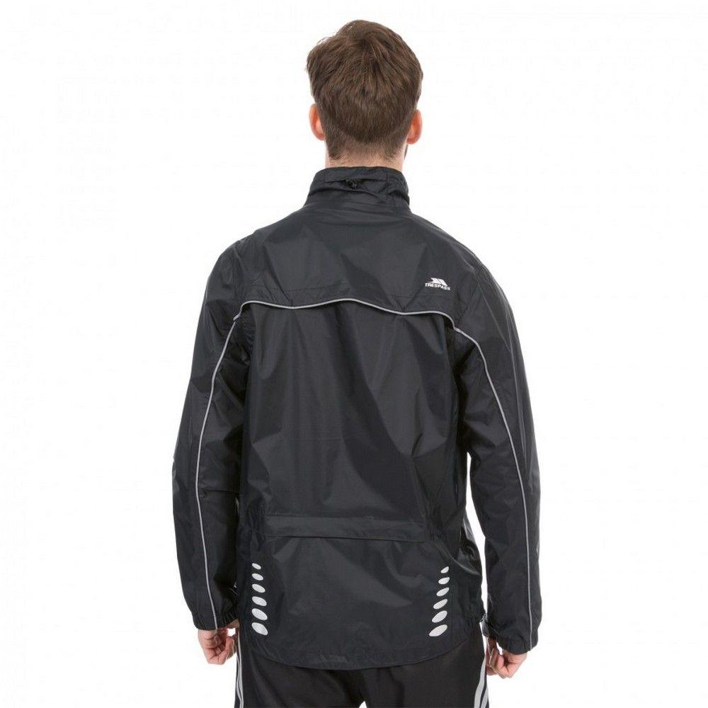 Trespass Mens Axle Waterproof Full Zip Active Jacket