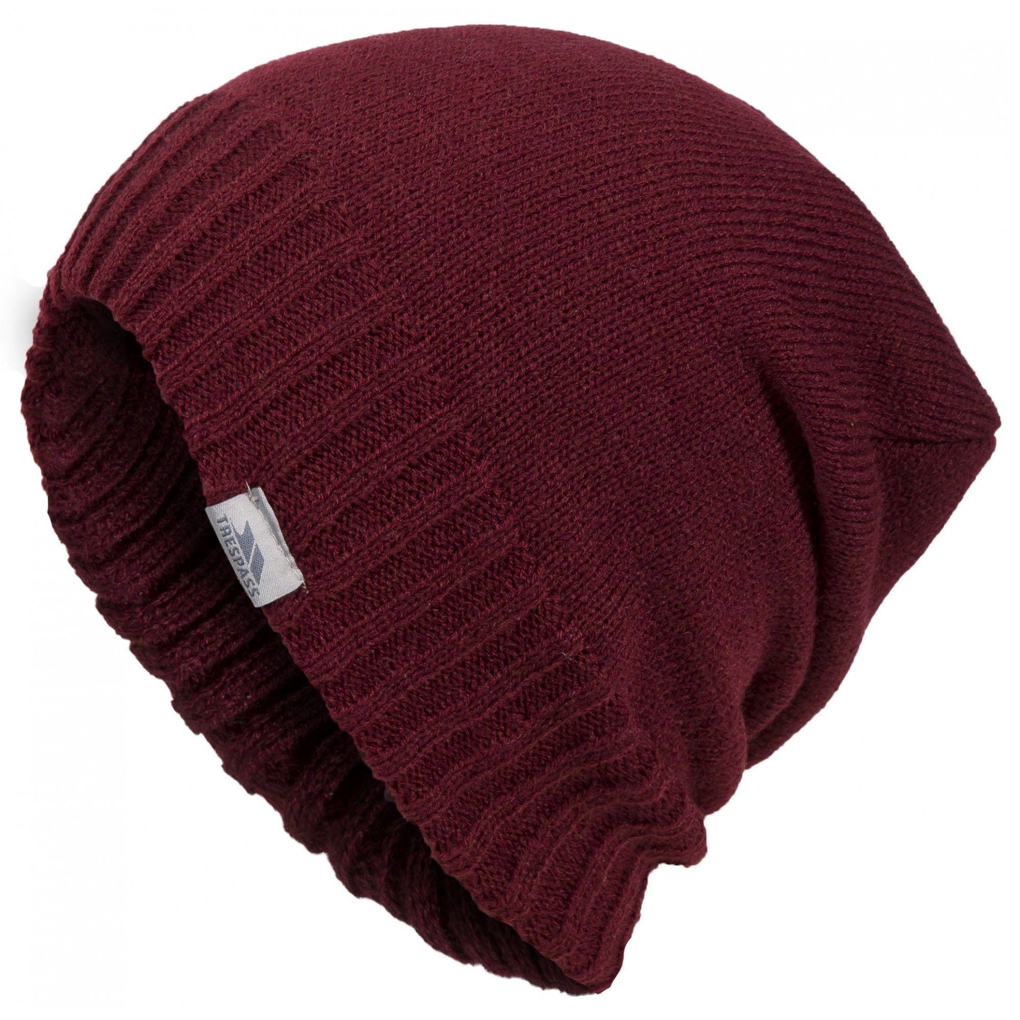 Trespass Unisex Ballard Winter Slouch Beanie Hat