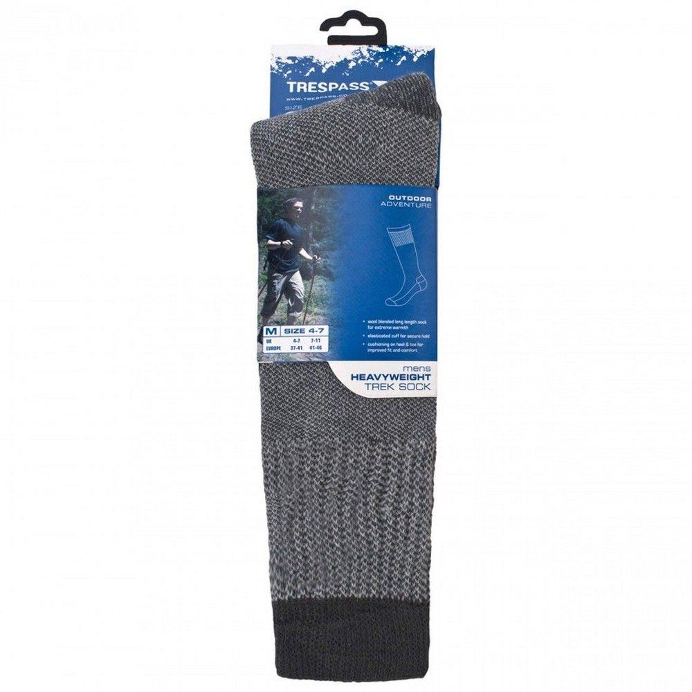 Trespass Mens Brogan Long Length Hiking Boot Socks (1 Pair)