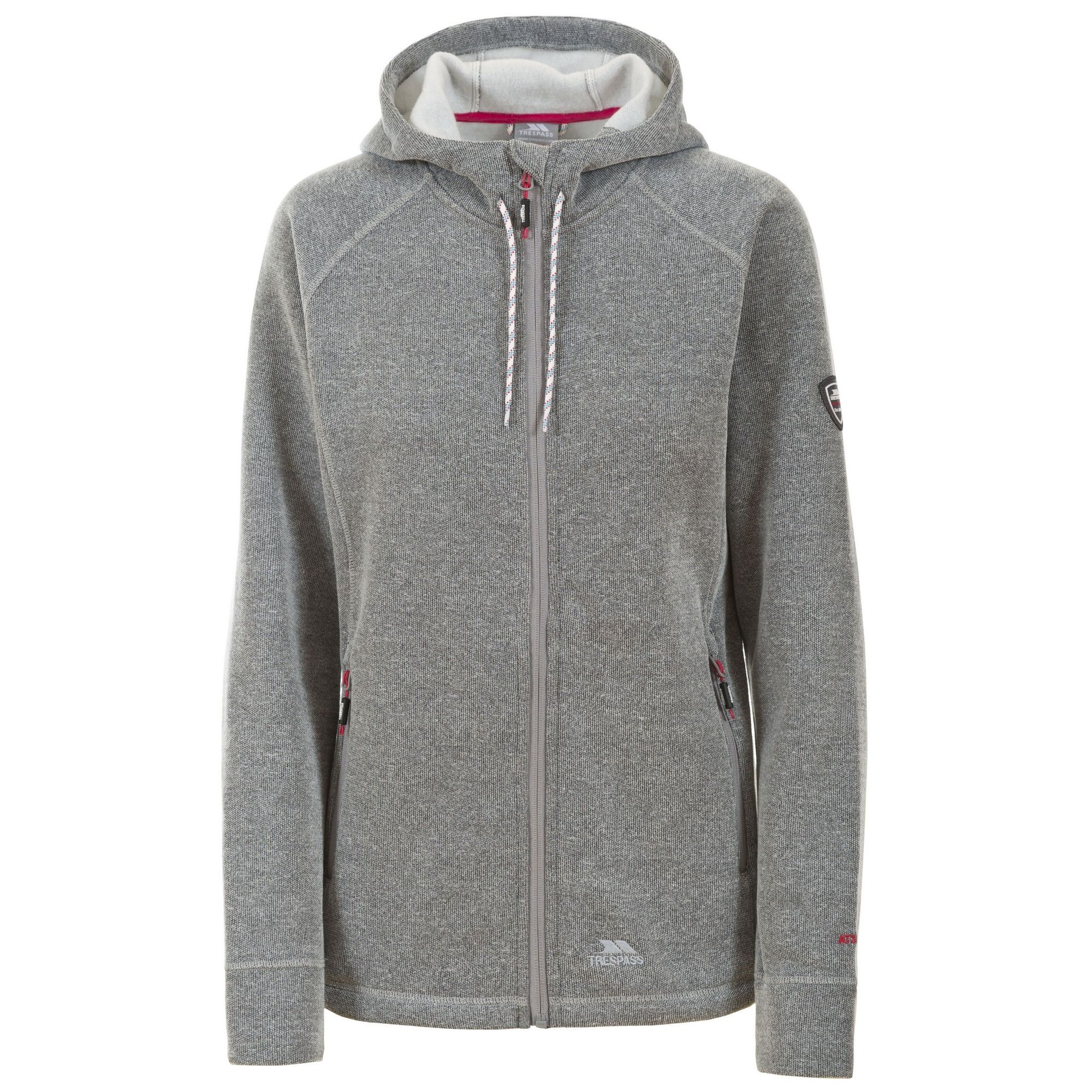 Trespass Womens/Ladies Whirlwind Full Zip Hooded Fleece Jacket