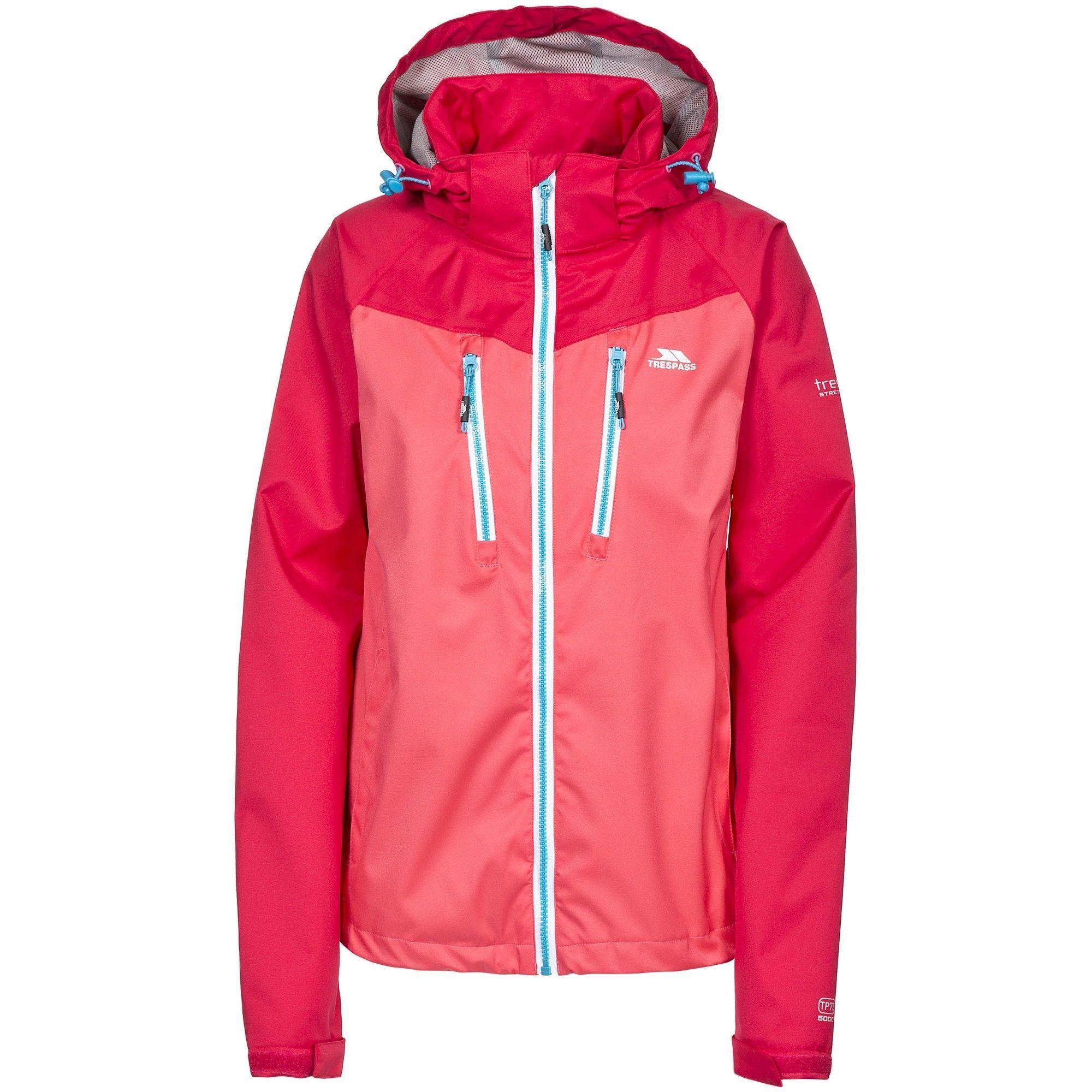 Trespass Womens/Ladies Farrah Waterproof Jacket