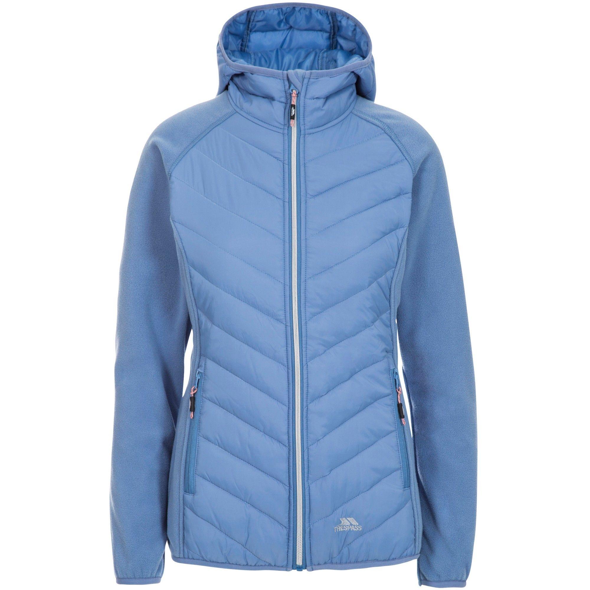 Trespass Women's Boardwalk Padded Hooded Fleece Jacket