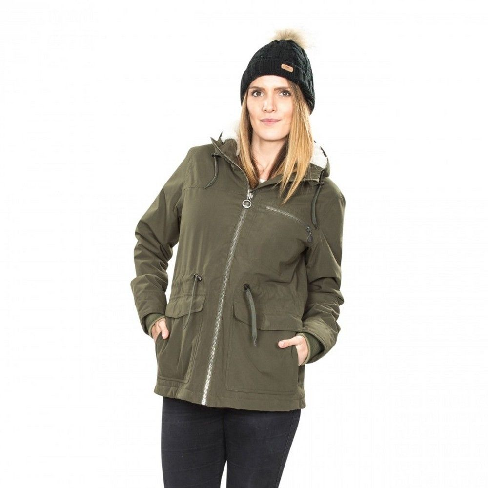Trespass Womens/Ladies Forever Wateproof Parka Jacket